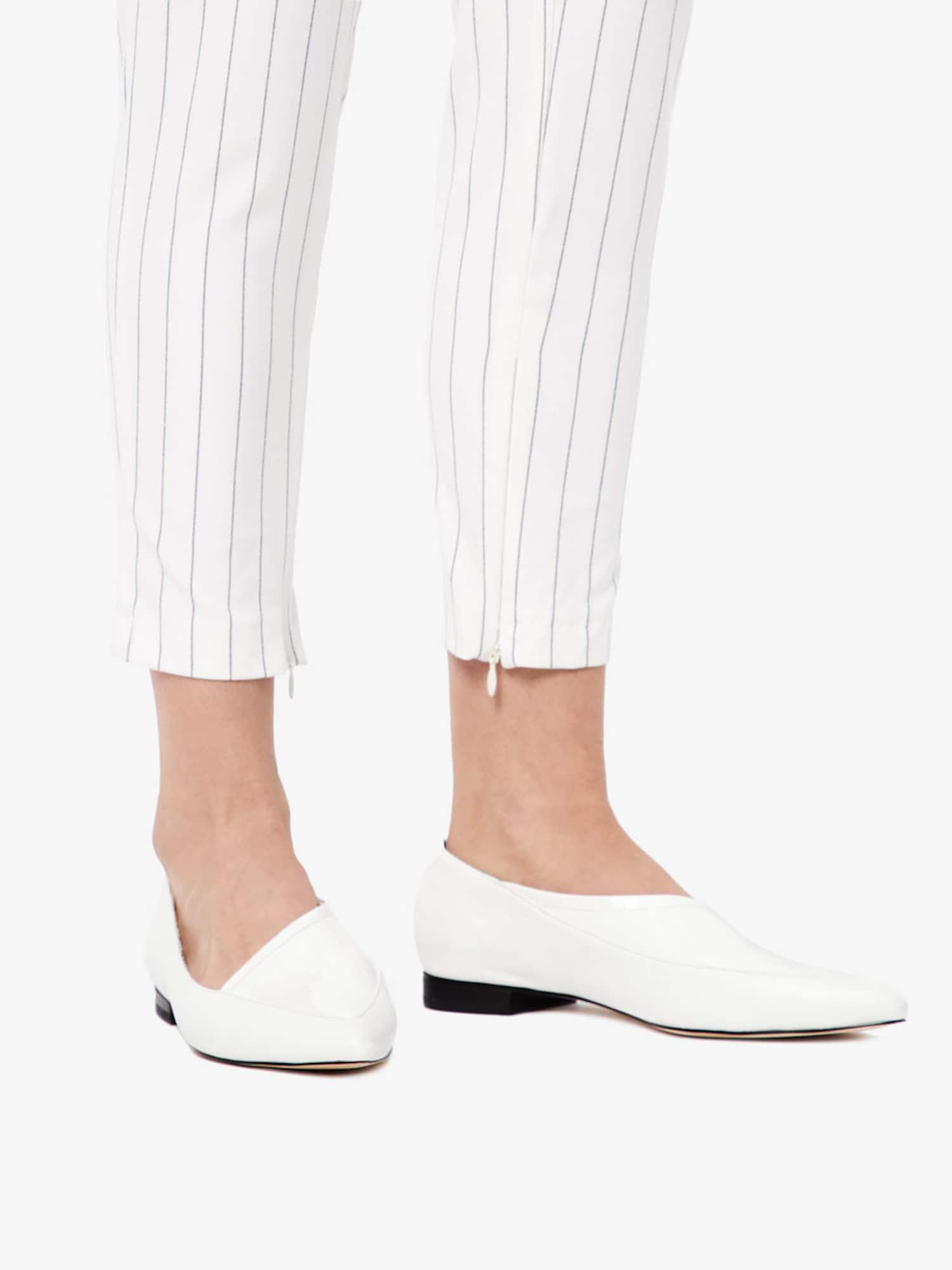 Bianco, Damen Ballerina, wit