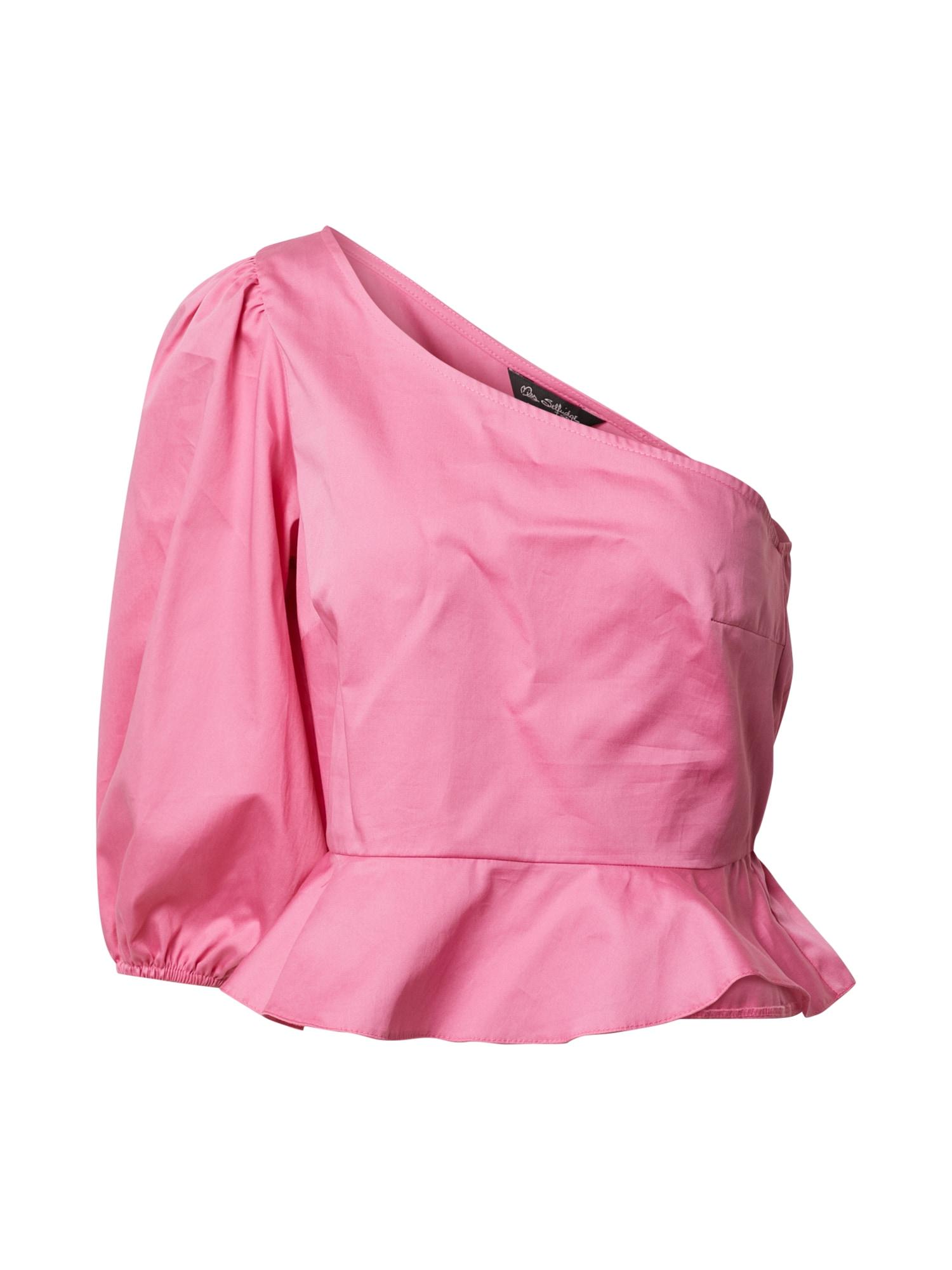 Miss Selfridge Palaidinė be rankovių 'PINK POPLIN 1 SHLDR' rožinė