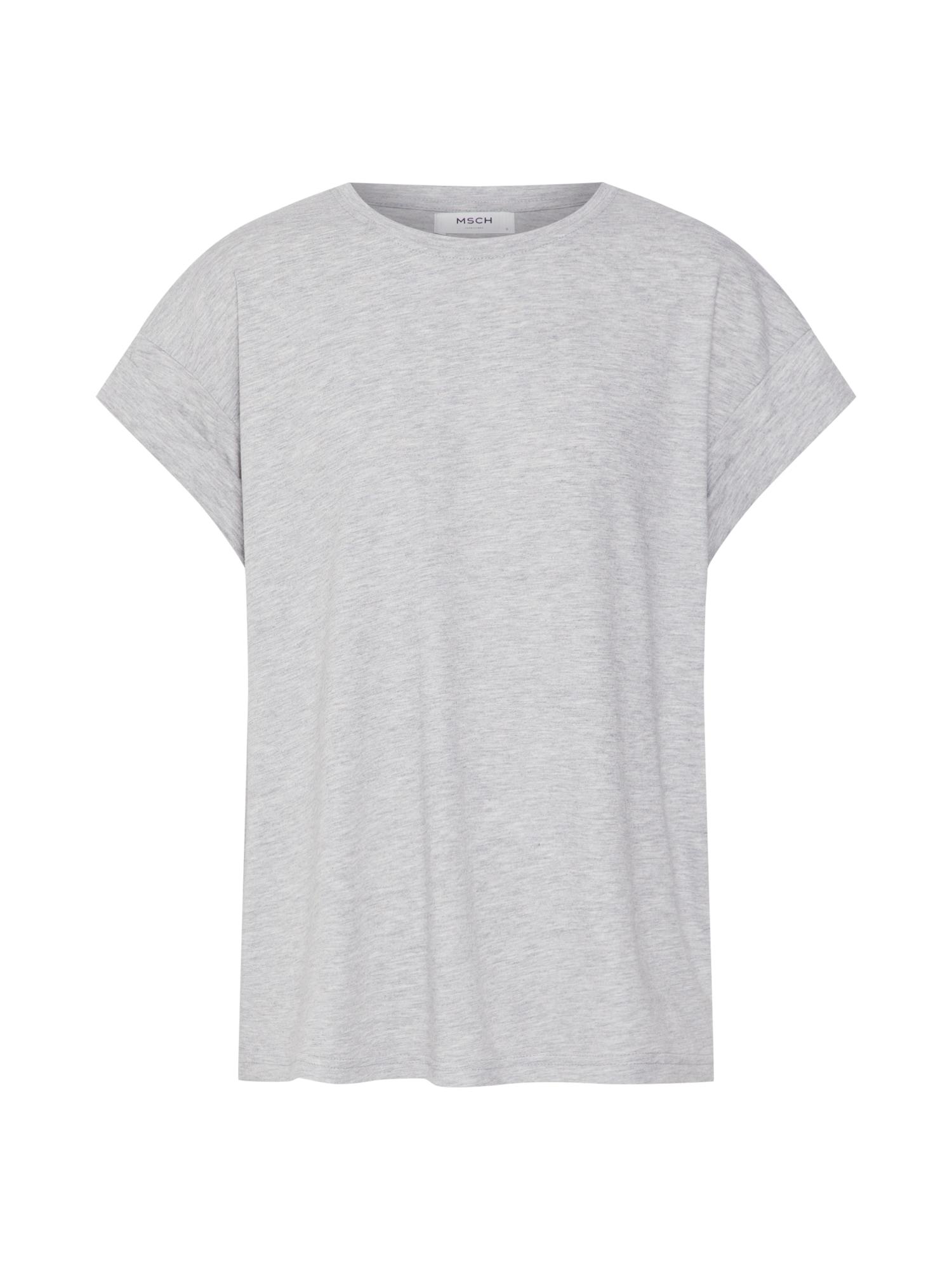 MOSS COPENHAGEN Tričko 'Alva STD'  sivá