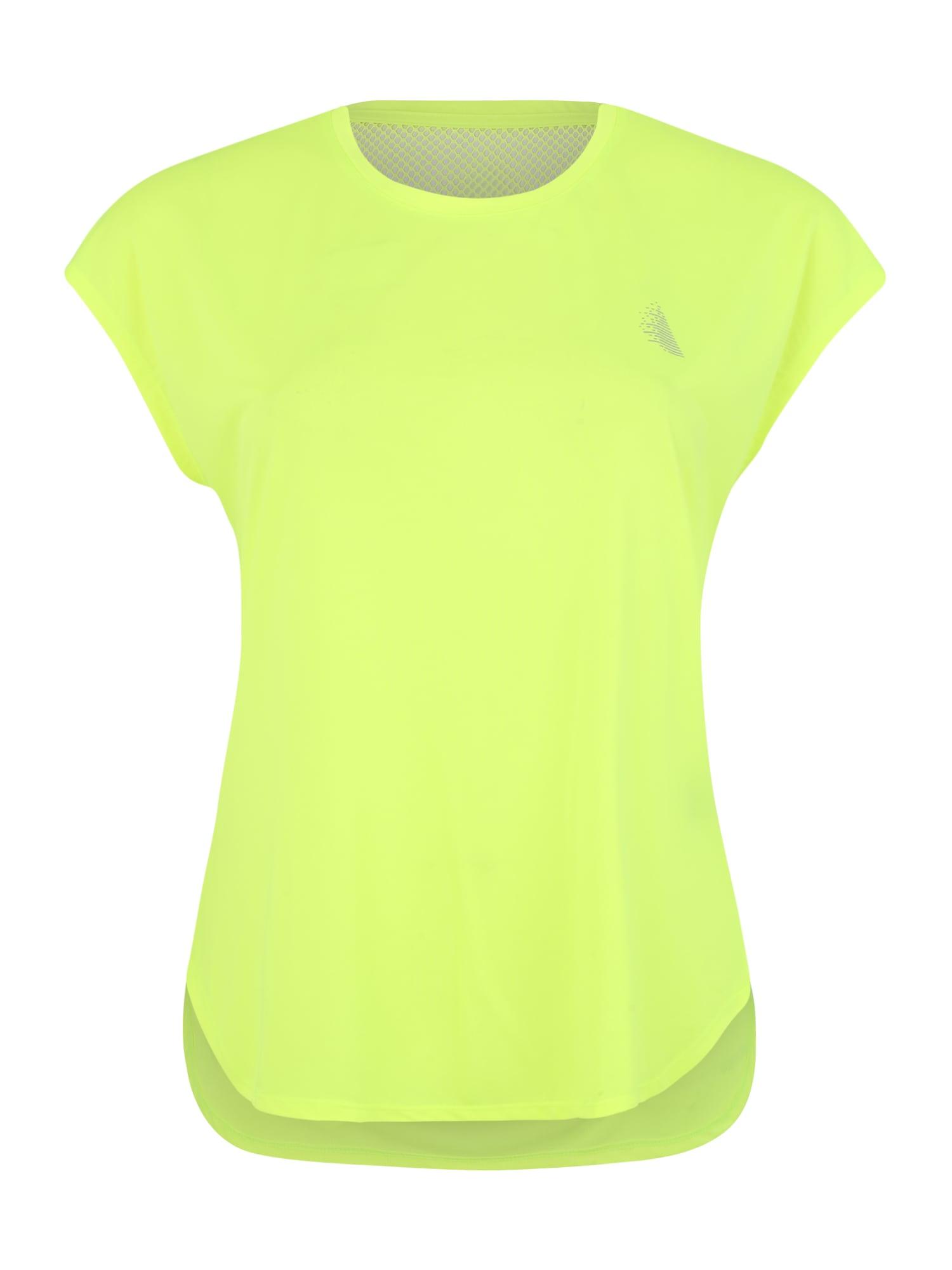Funkční tričko ADIANA svítivě žlutá Active By Zizzi