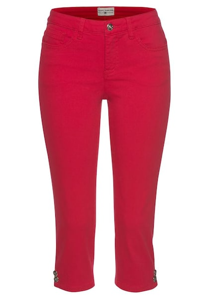 Hosen für Frauen - Caprihose › Tom Tailor Polo Team › rot  - Onlineshop ABOUT YOU