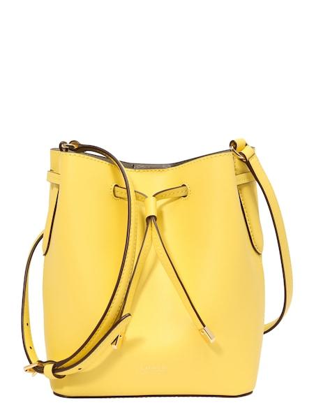 Shopper für Frauen - Lauren Ralph Lauren Beuteltasche 'DEBBY II DRAWSTRING MINI' gelb  - Onlineshop ABOUT YOU