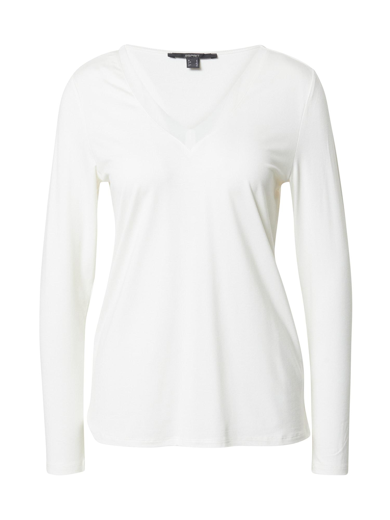 Esprit Collection Marškinėliai balkšva