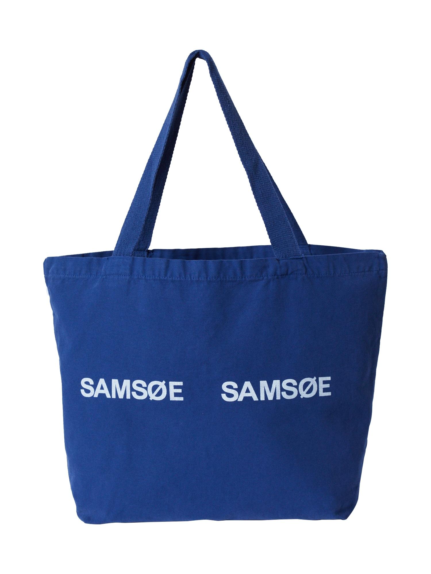 Samsoe Samsoe Pirkinių krepšys 'Frinka' mėlyna
