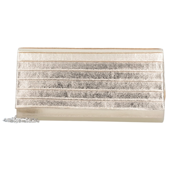 Clutches für Frauen - TAMARIS Clutch Tasche 'Ornella' 20 cm gold  - Onlineshop ABOUT YOU
