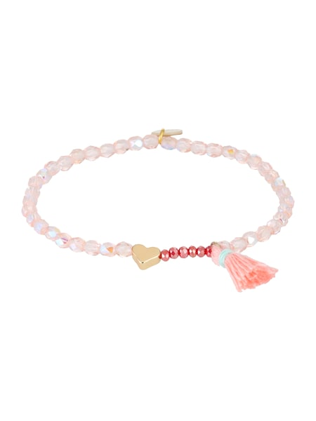 Armbaender für Frauen - Lua Accessories Armband 'Ruby Heart' rosa  - Onlineshop ABOUT YOU