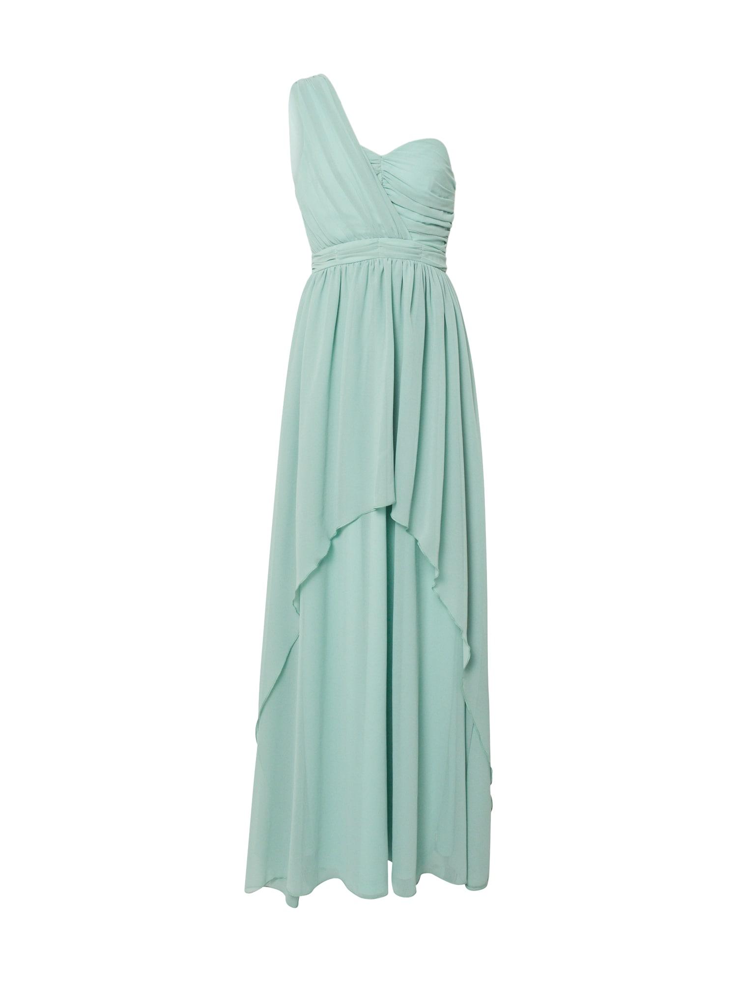 Boohoo Vakarinė suknelė mėtų spalva / šviesiai mėlyna / turkio spalva