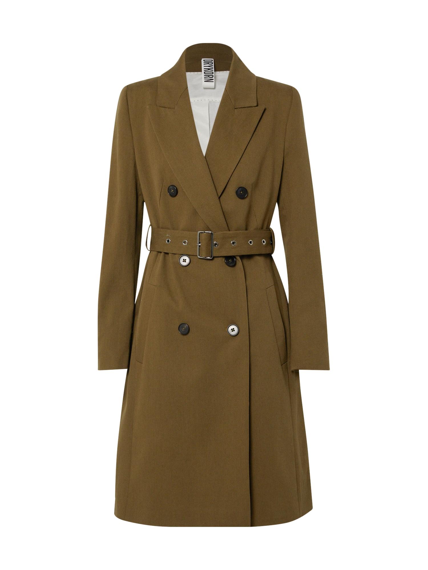 DRYKORN Prechodný kabát 'HOLMAN'  kaki