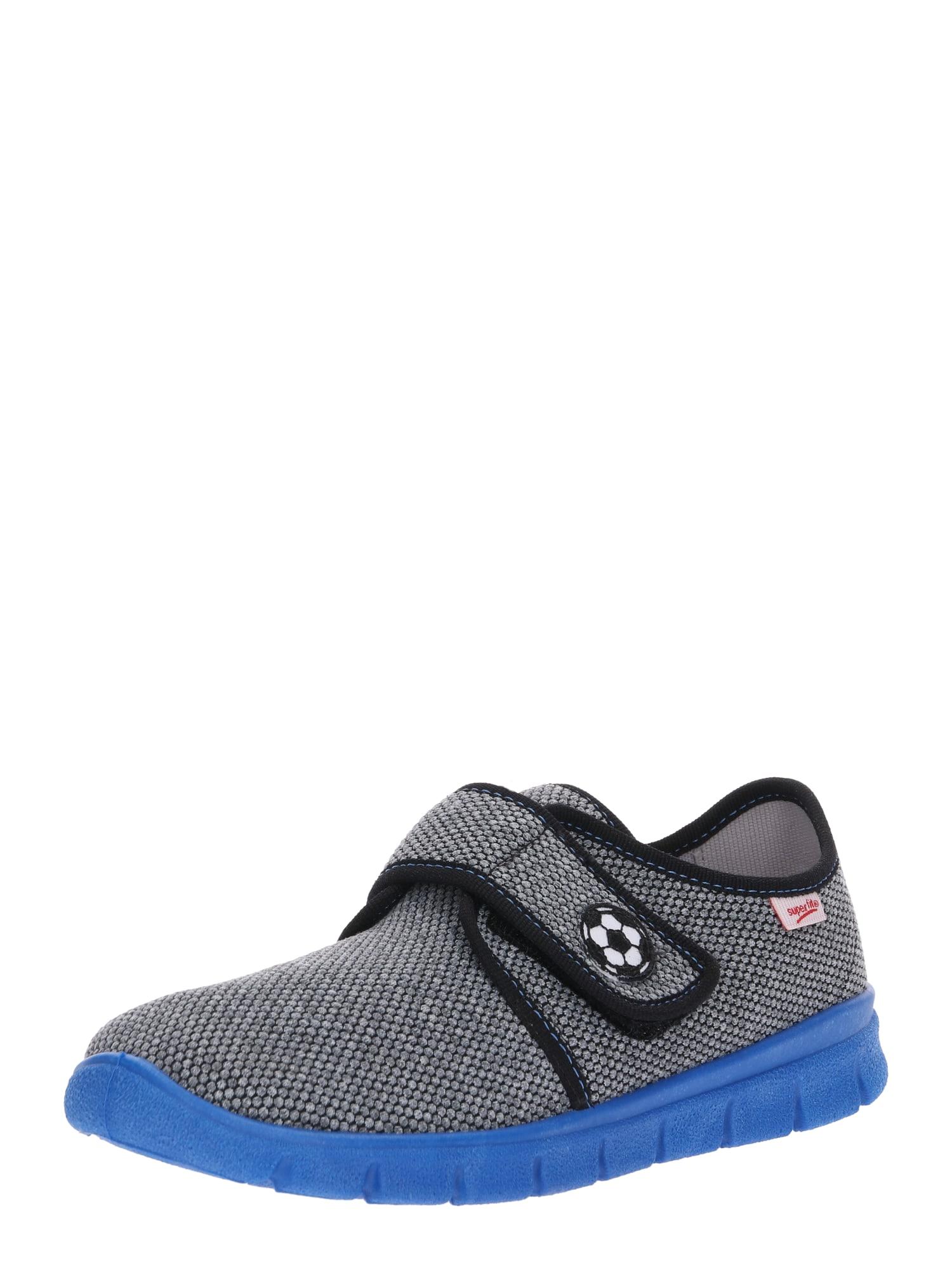 Pantofle Bobby modrá šedá SUPERFIT