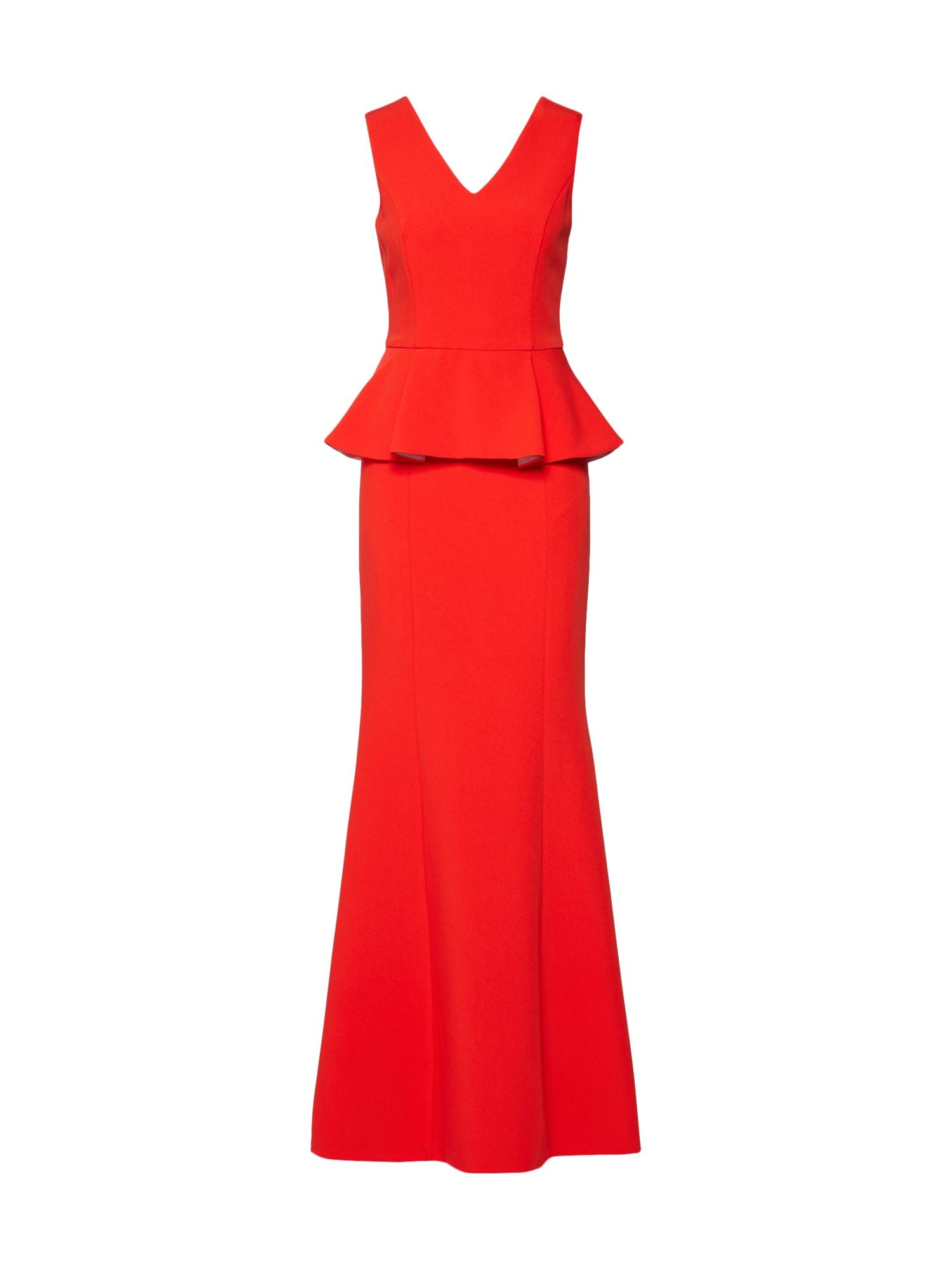 Společenské šaty červená Four Flavor
