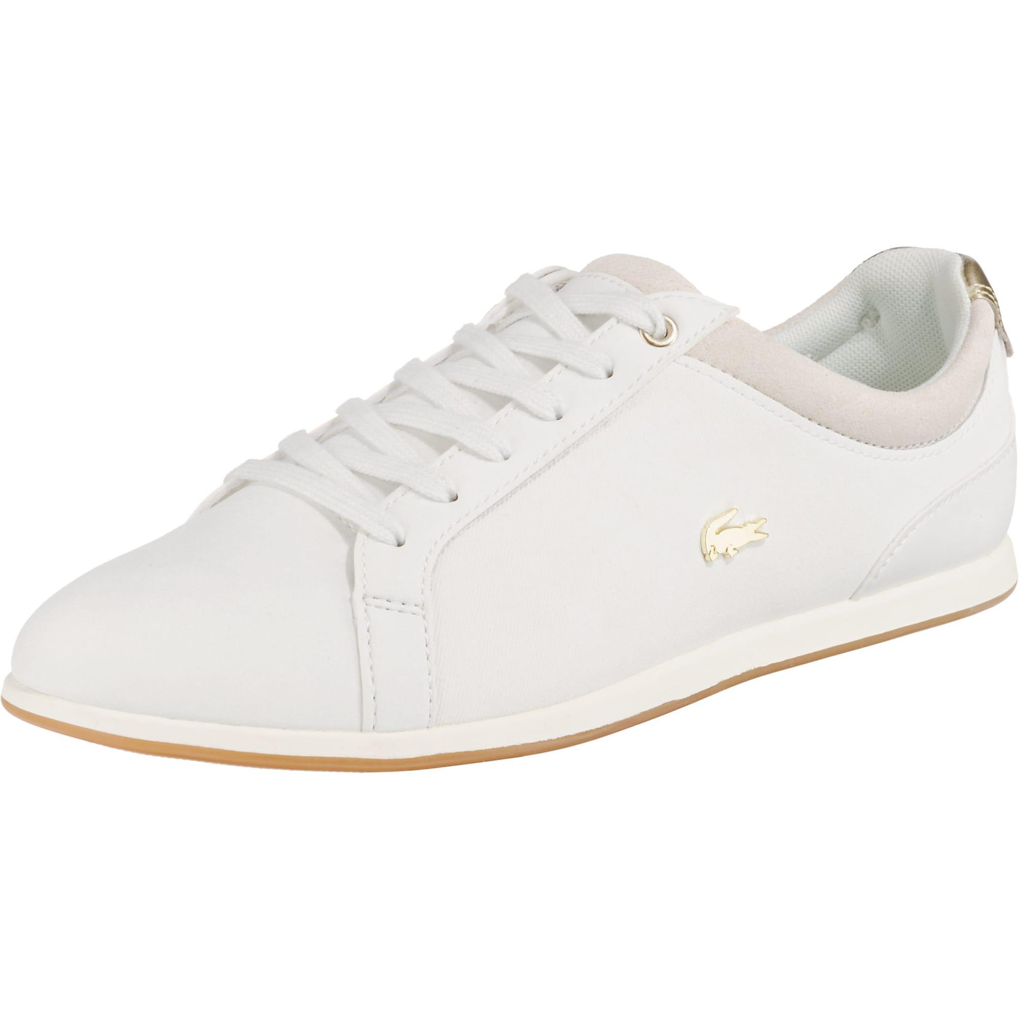 info for b1829 ed389 AboutYou Damen Lacoste Sneakers 'Rey' weiß   05012123330747