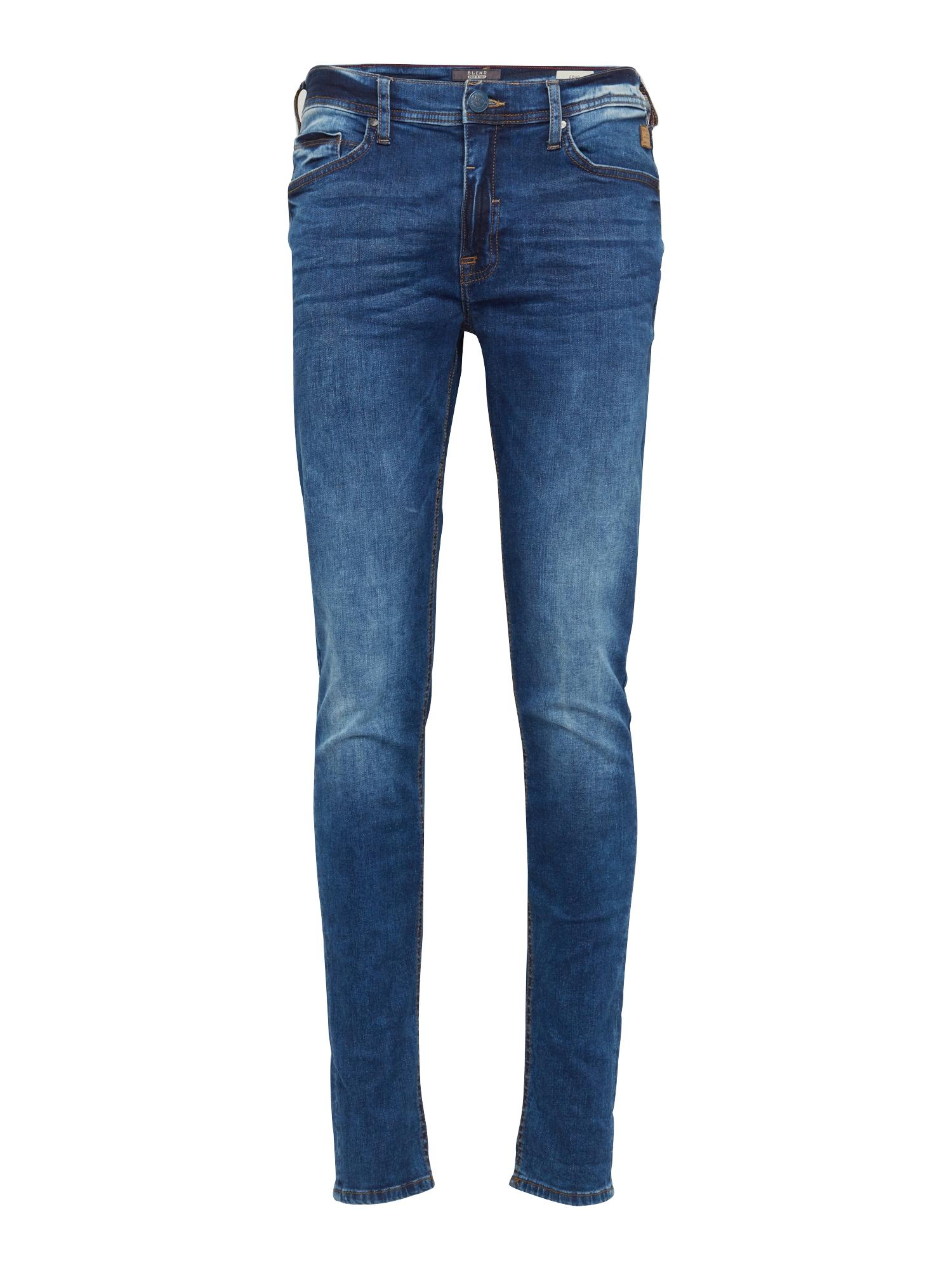 BLEND Džinsai 'Echo Skinny' tamsiai (džinso) mėlyna