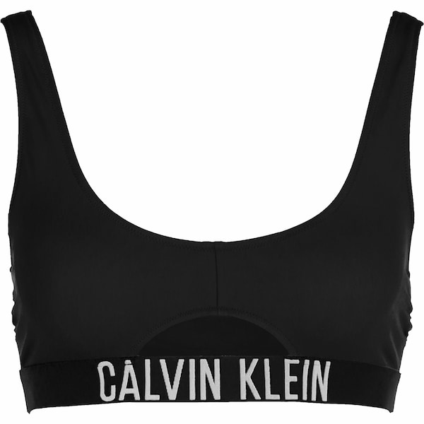 Bademode - Bikini Oberteil ' Cut out ' › Calvin Klein Underwear › schwarz  - Onlineshop ABOUT YOU