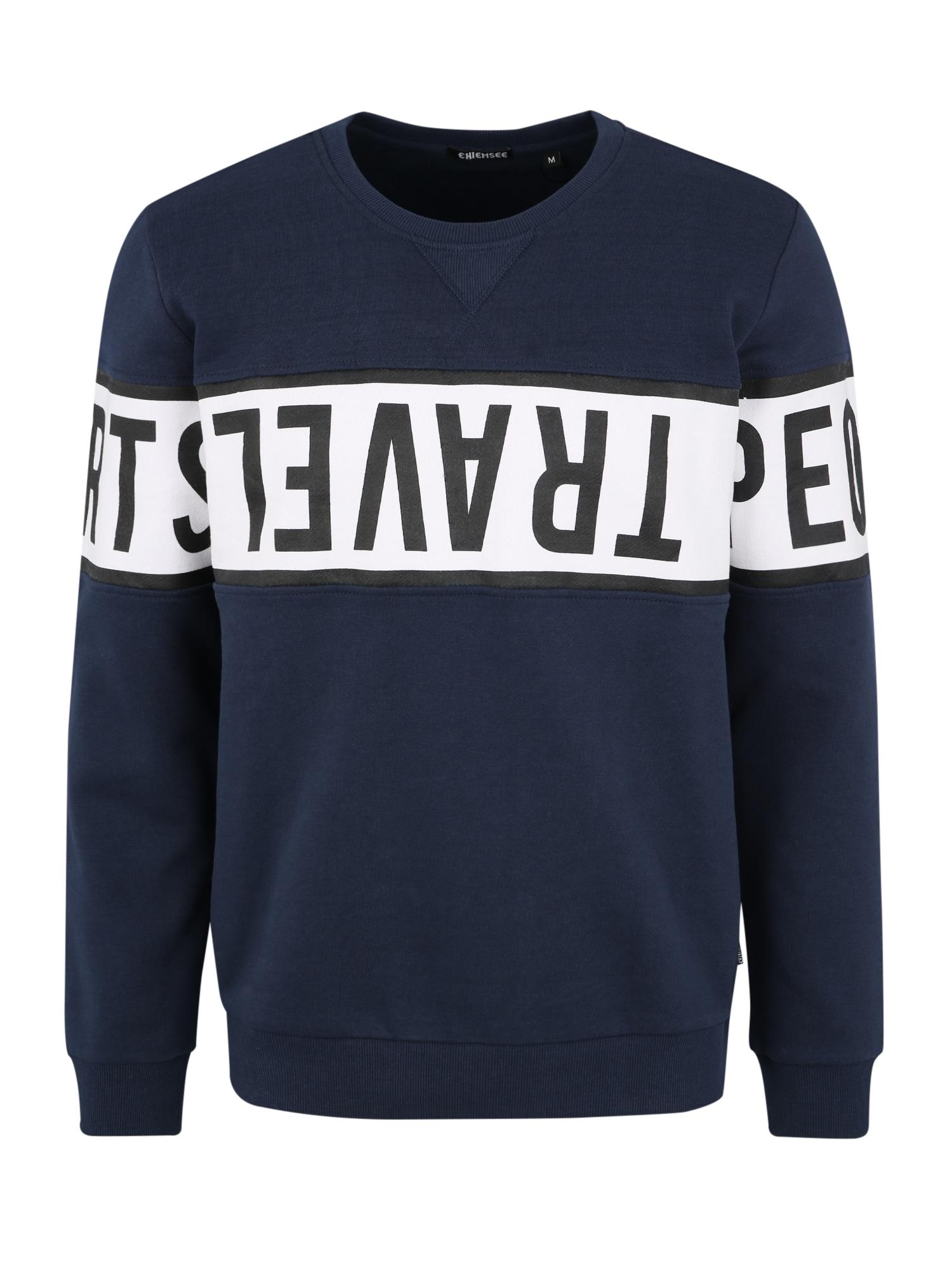 CHIEMSEE Sportinio tipo megztinis tamsiai mėlyna