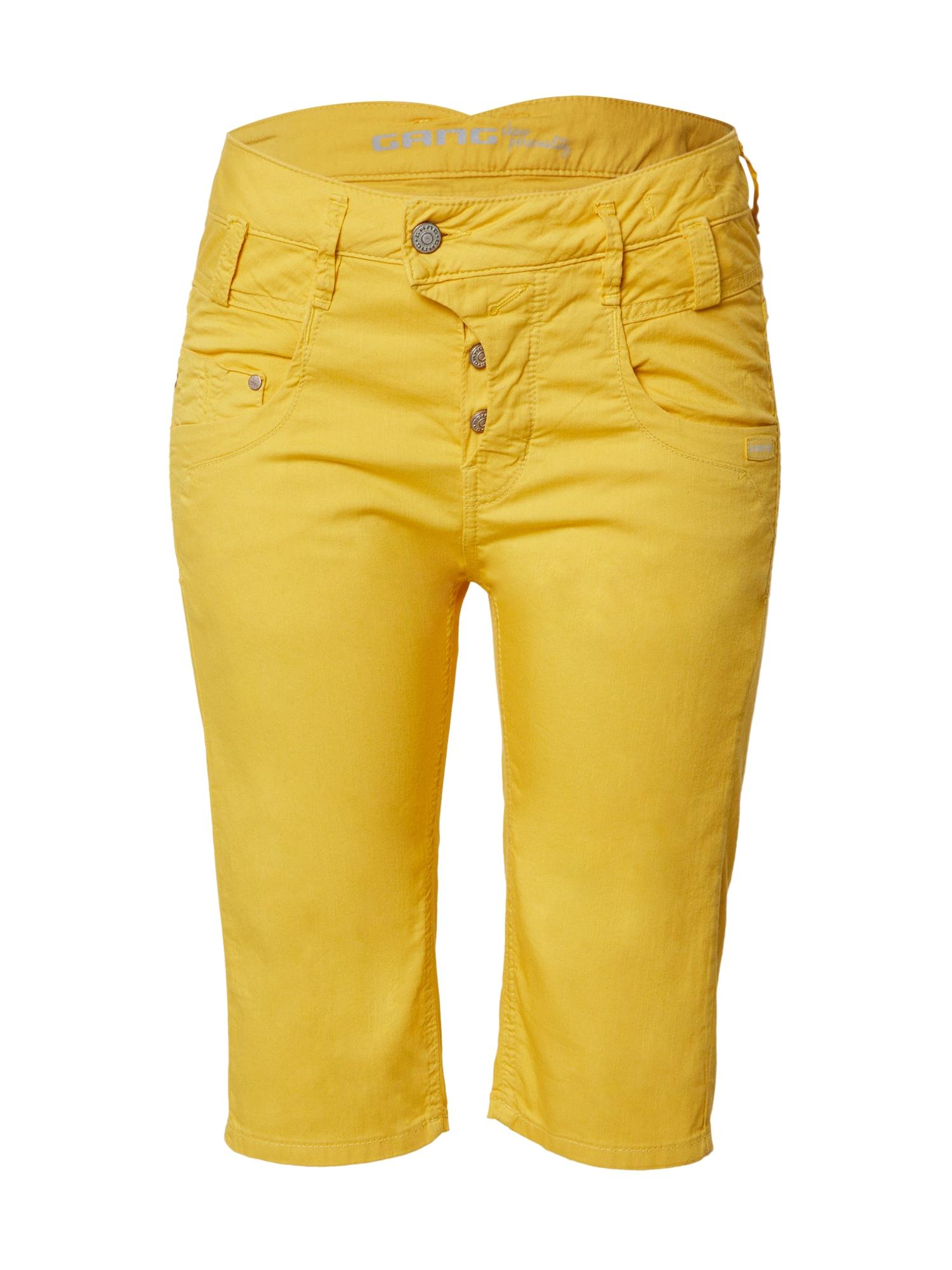 Gang Kelnės 'MARGE' geltona