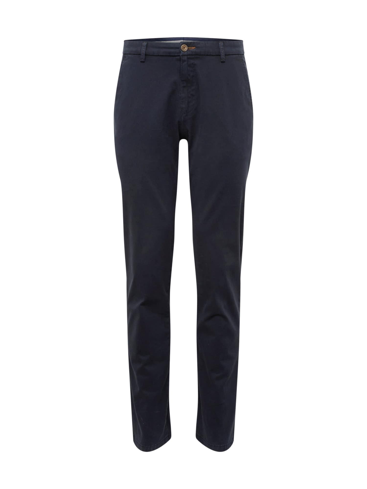 "bugatti ""Chino"" stiliaus kelnės tamsiai mėlyna"
