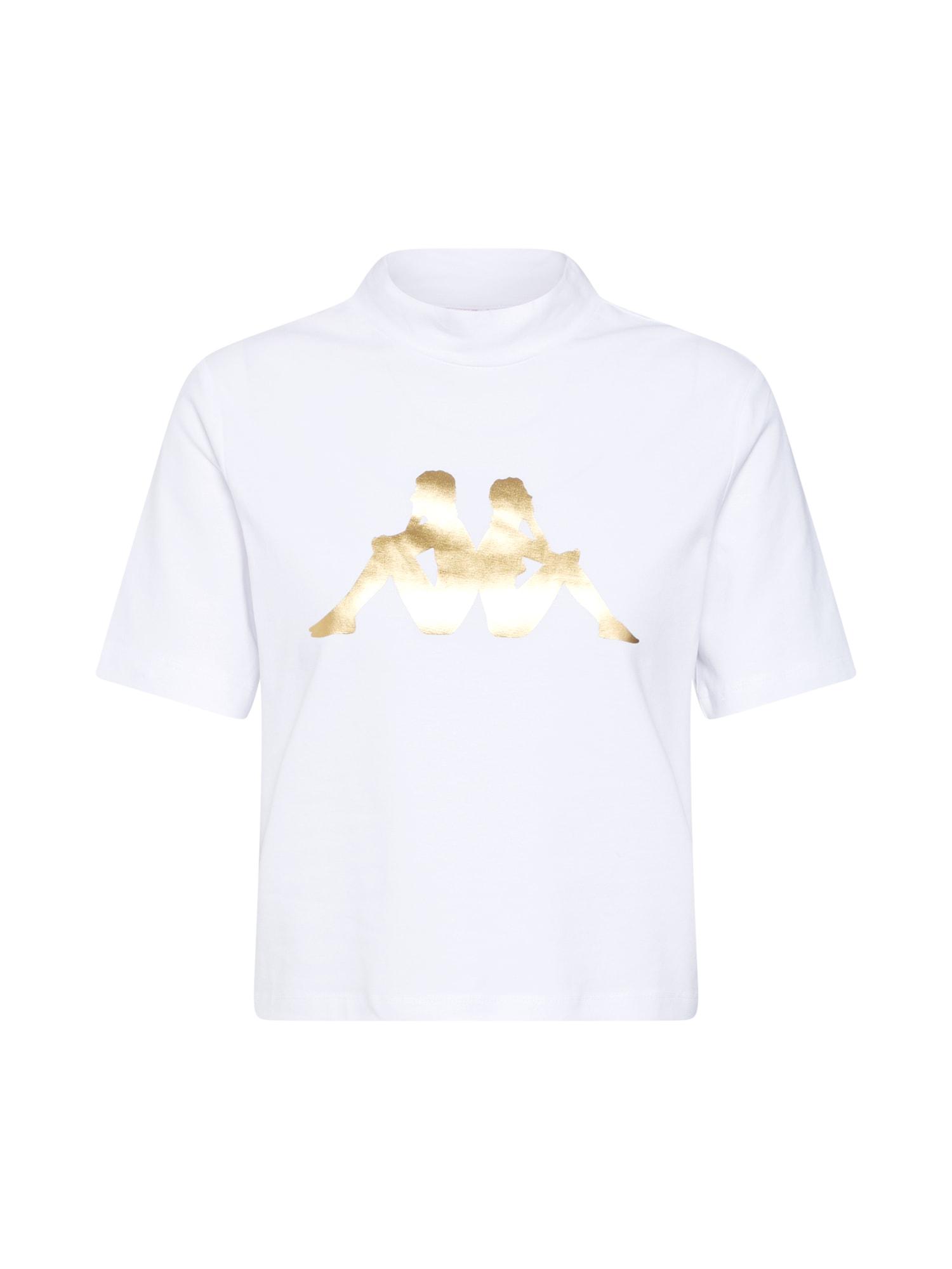 Tričko Effi zlatá bílá KAPPA
