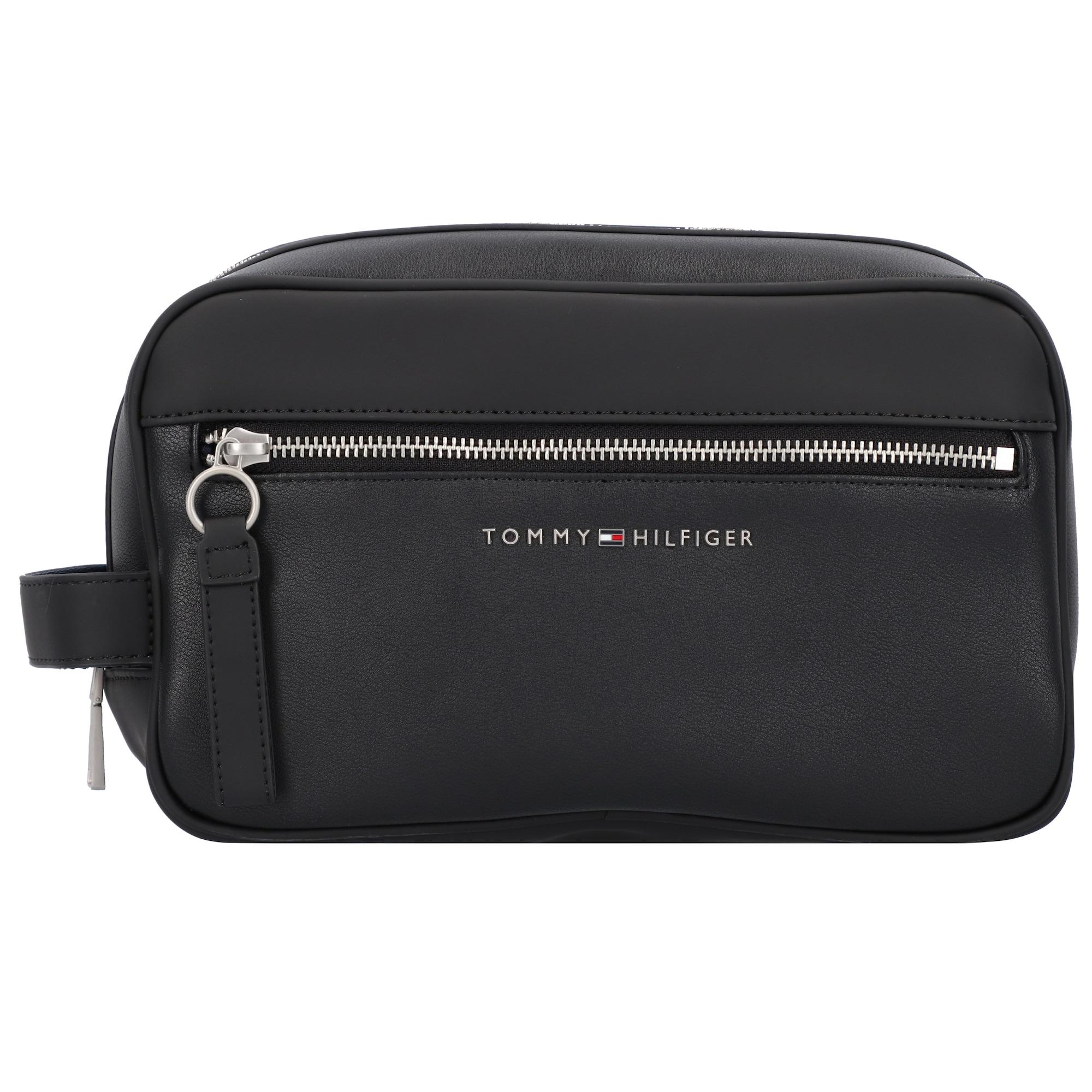 TOMMY HILFIGER Tualeto reikmenų / kosmetikos krepšys juoda