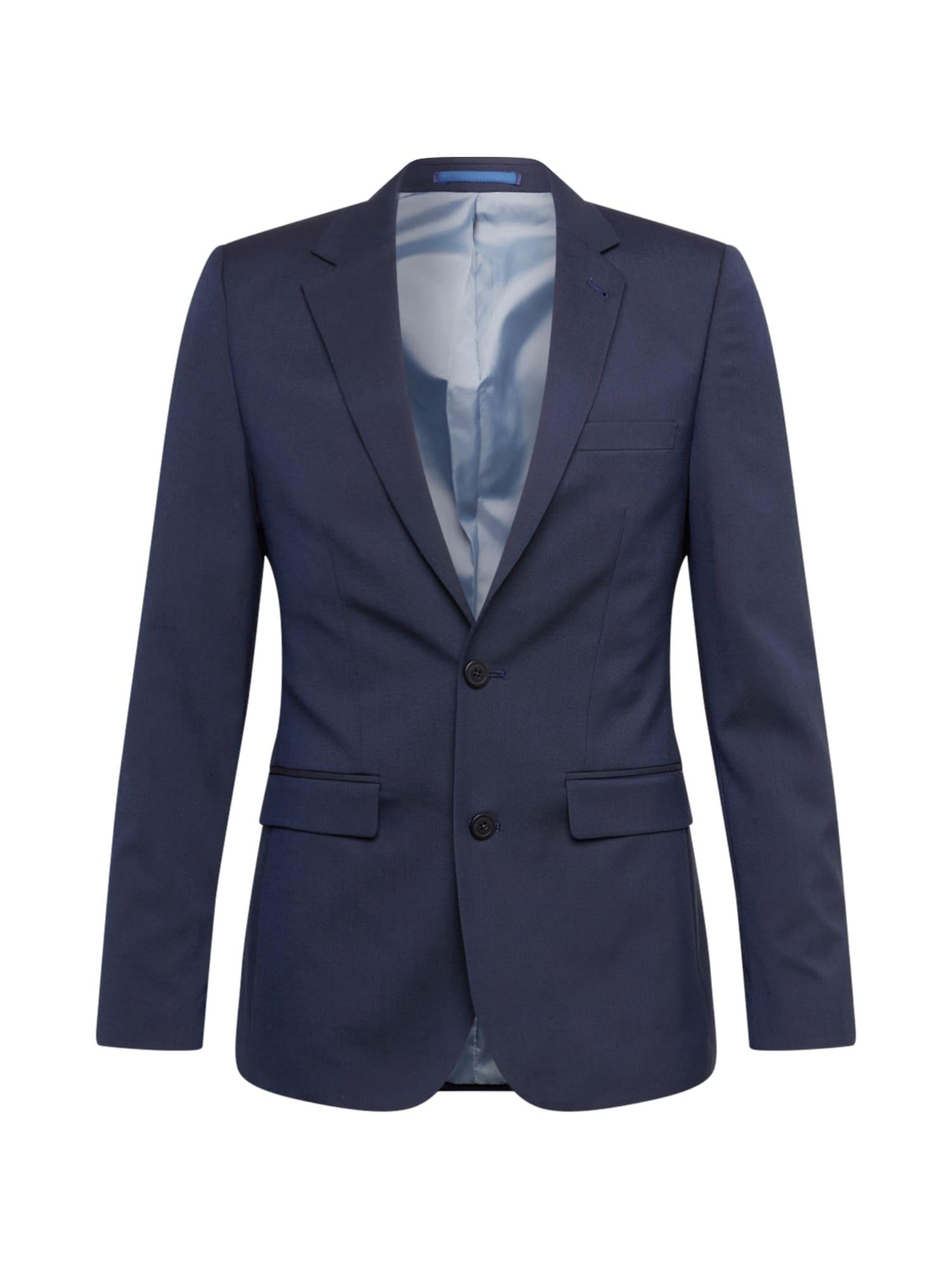 BURTON MENSWEAR LONDON Dalykinio stiliaus švarkas tamsiai mėlyna