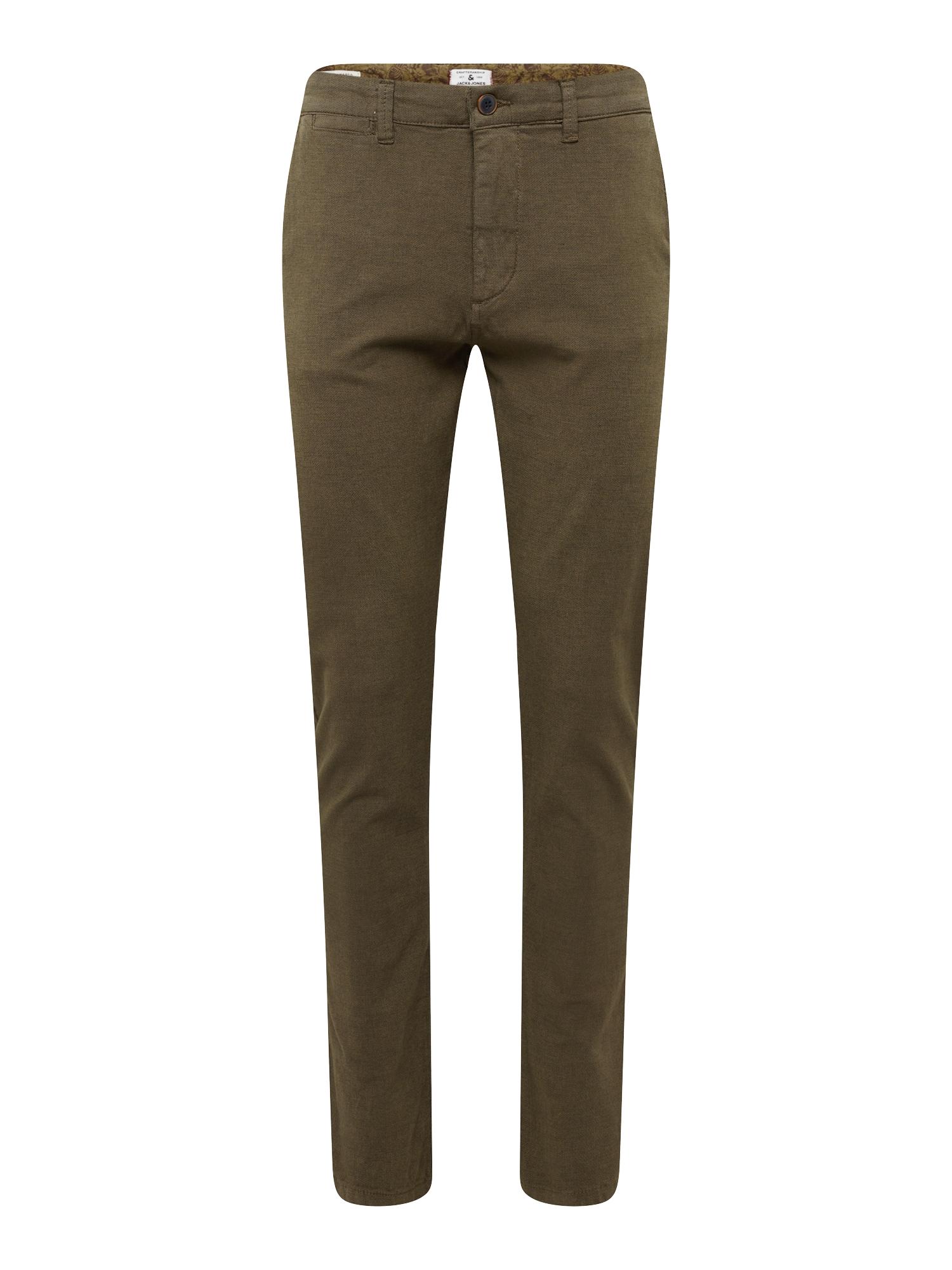 Chino kalhoty Marco Kenzo olivová JACK & JONES