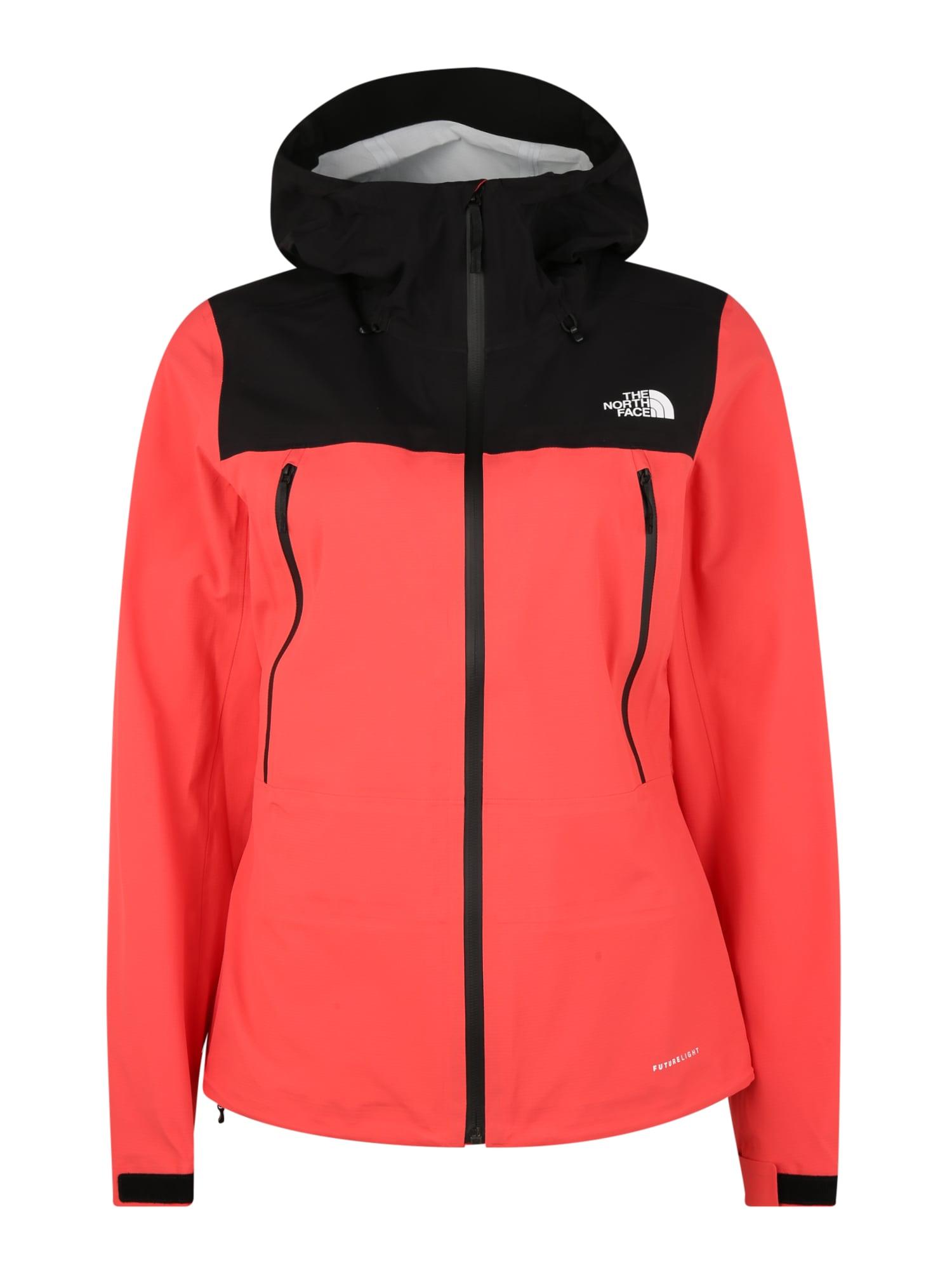 THE NORTH FACE Prechodná bunda 'W TENTE FUTURELIGHT JACKET '  červené / čierna