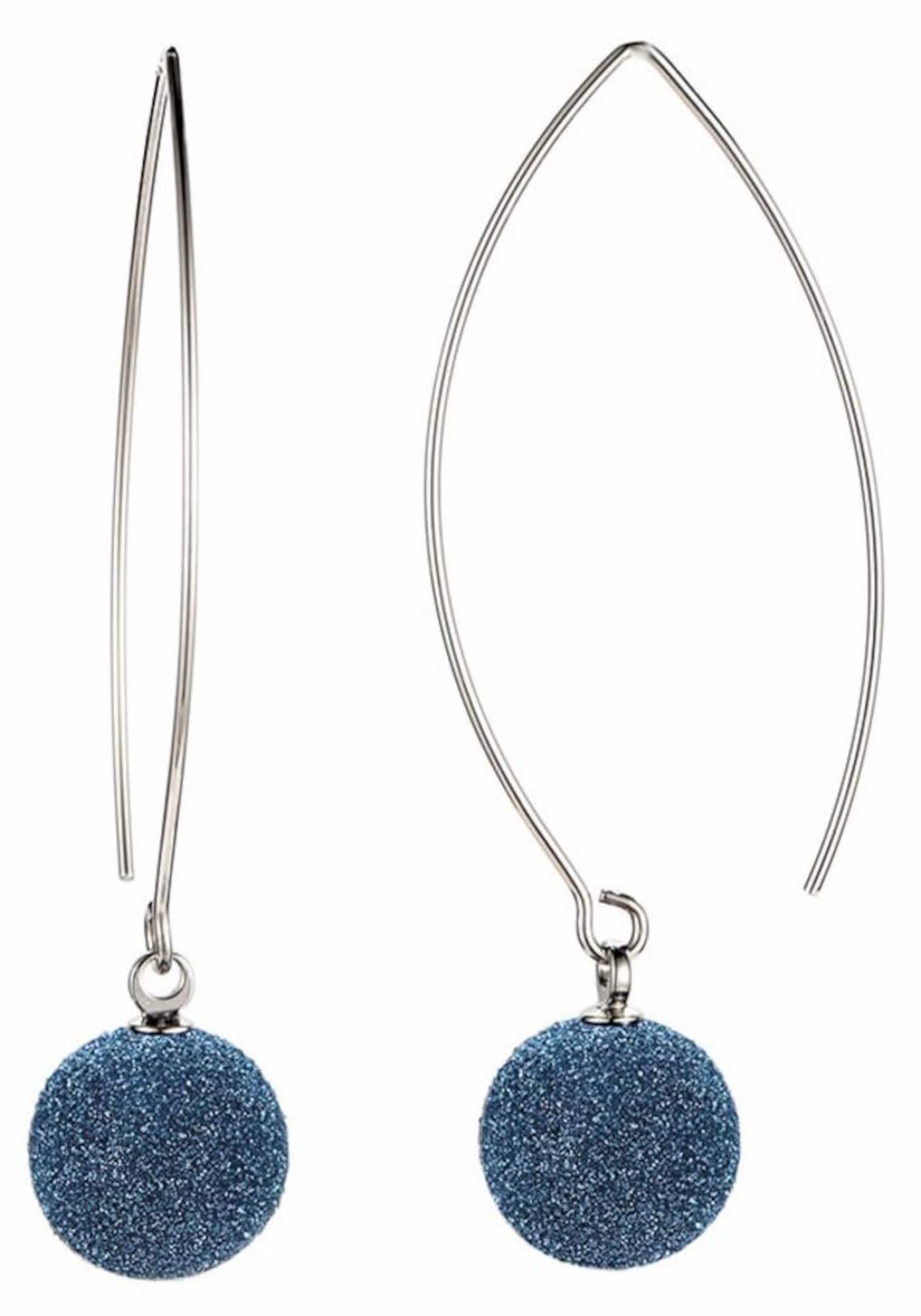 Ohrringe für Frauen - FIRETTI Paar Ohrhaken blau silber  - Onlineshop ABOUT YOU