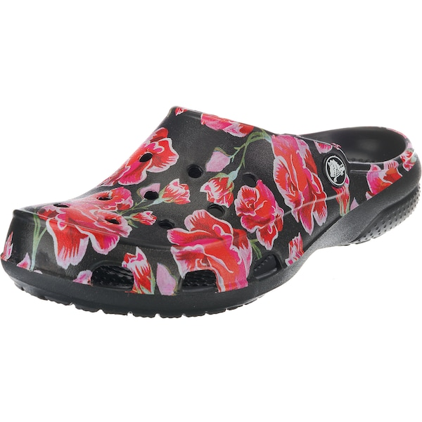 Clogs für Frauen - Crocs Clogs 'Freesail Graphic Clog W MRs Blk' rot schwarz  - Onlineshop ABOUT YOU