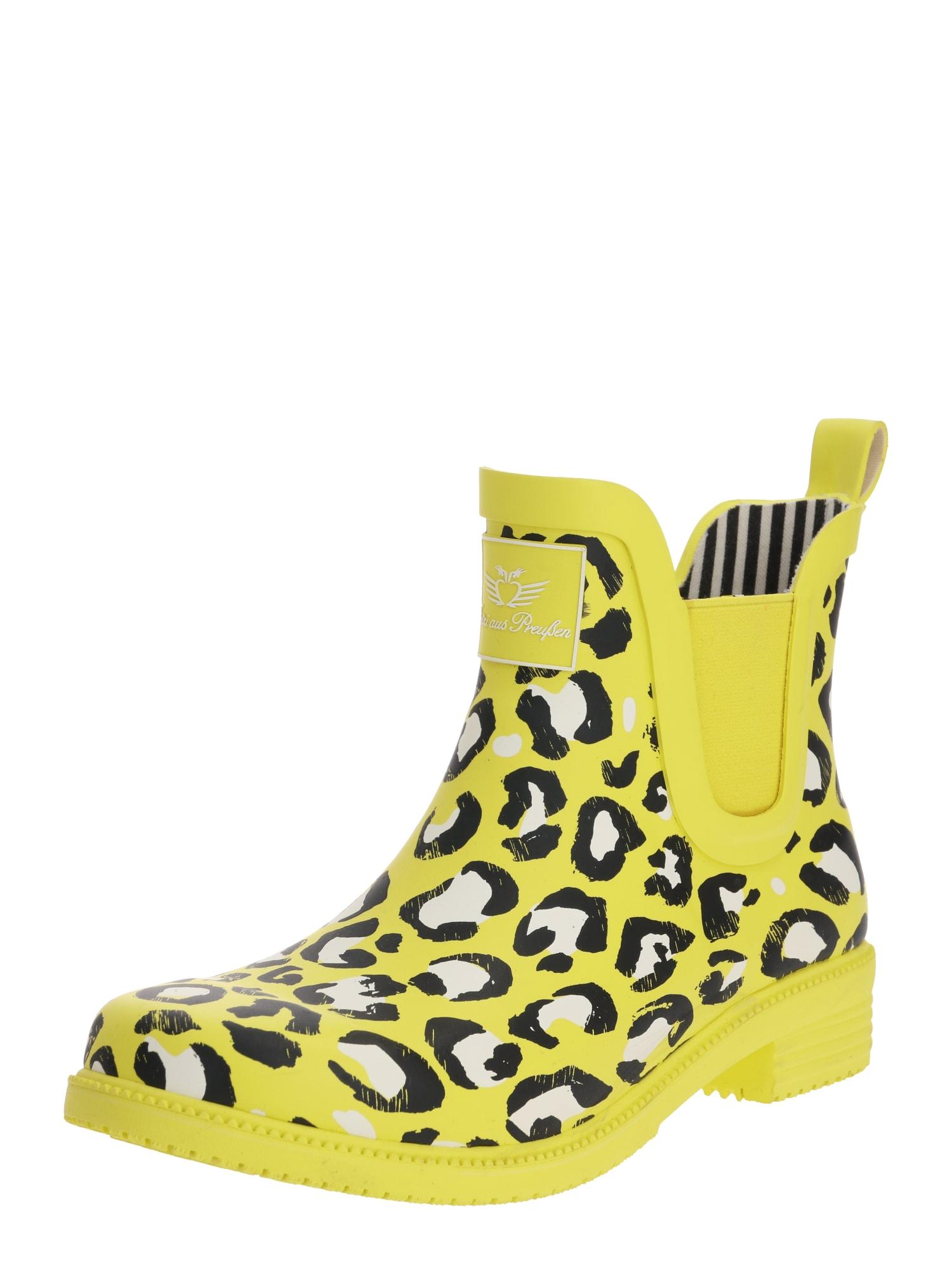 Fritzi aus Preußen Guminiai batai 'Abeni' geltona / juoda
