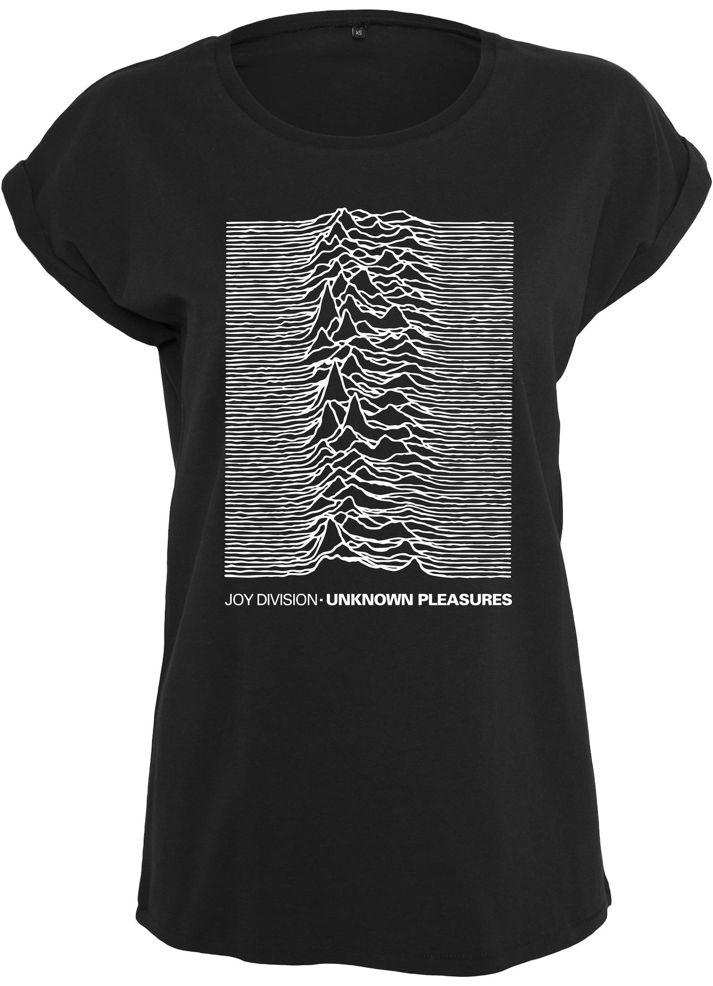 Tričko Joy Divison UP černá bílá Merchcode