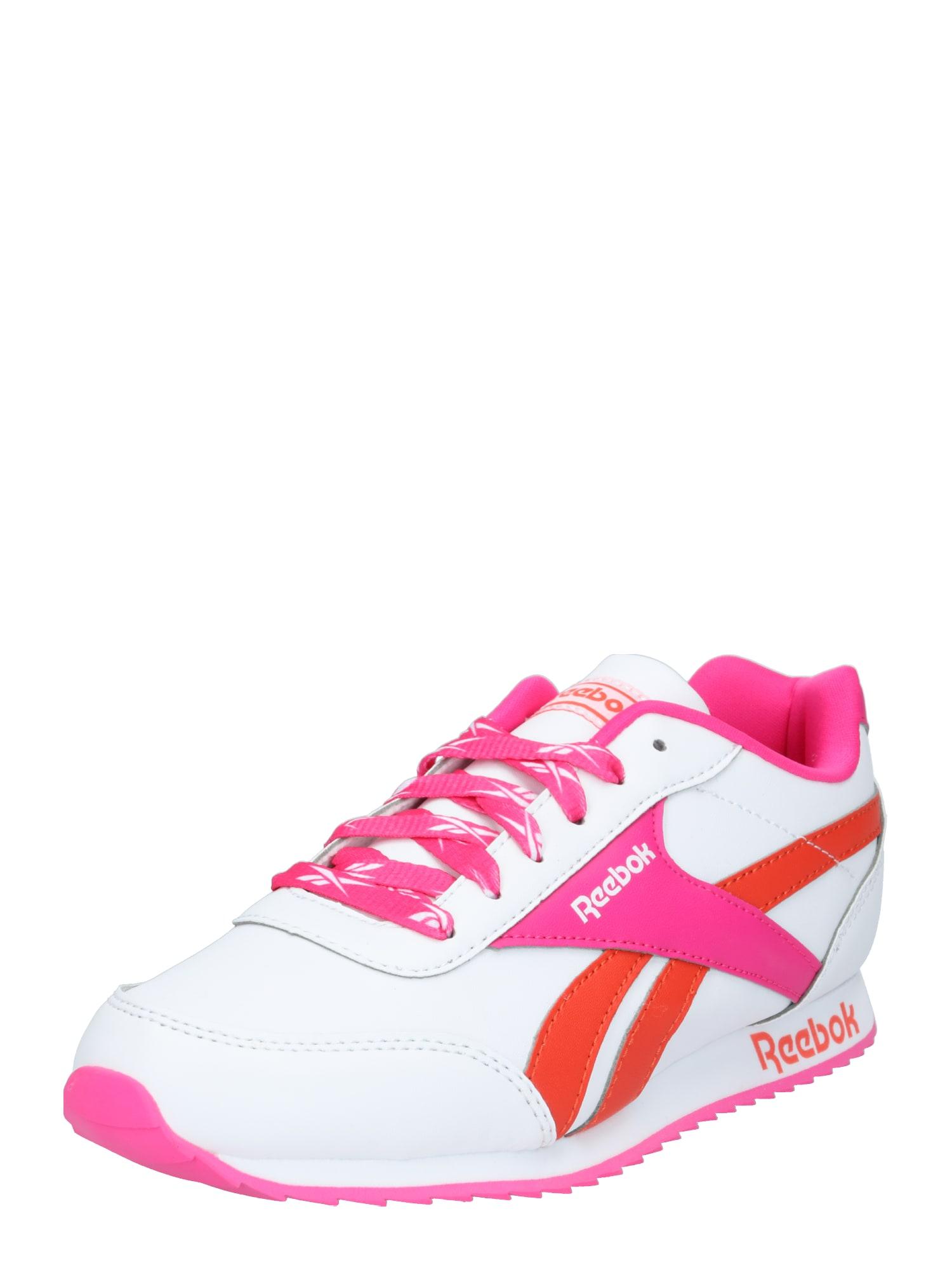 Reebok Classic Nízke tenisky  biela / ružová