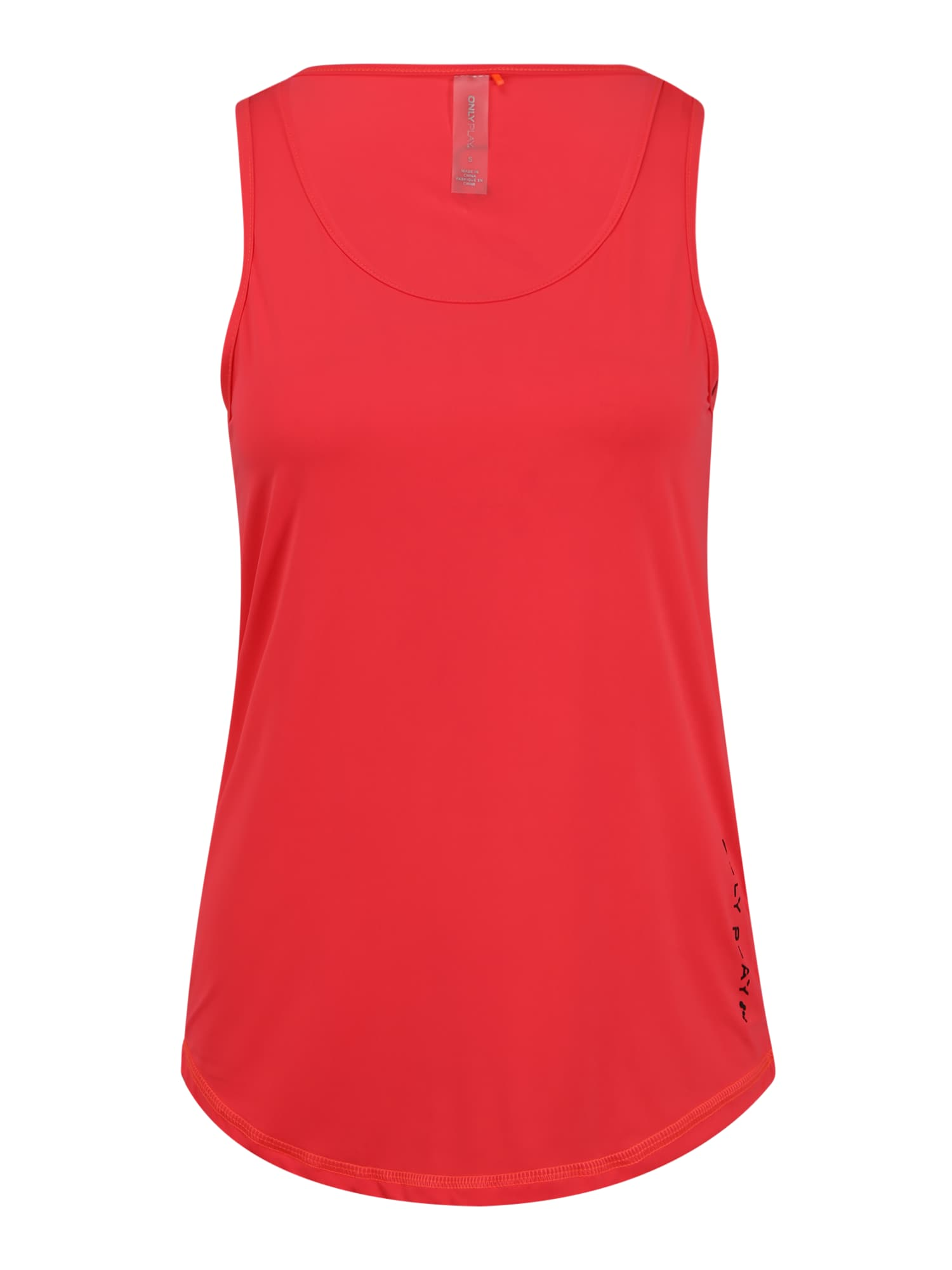ONLY PLAY Sportiniai marškinėliai be rankovių raudona