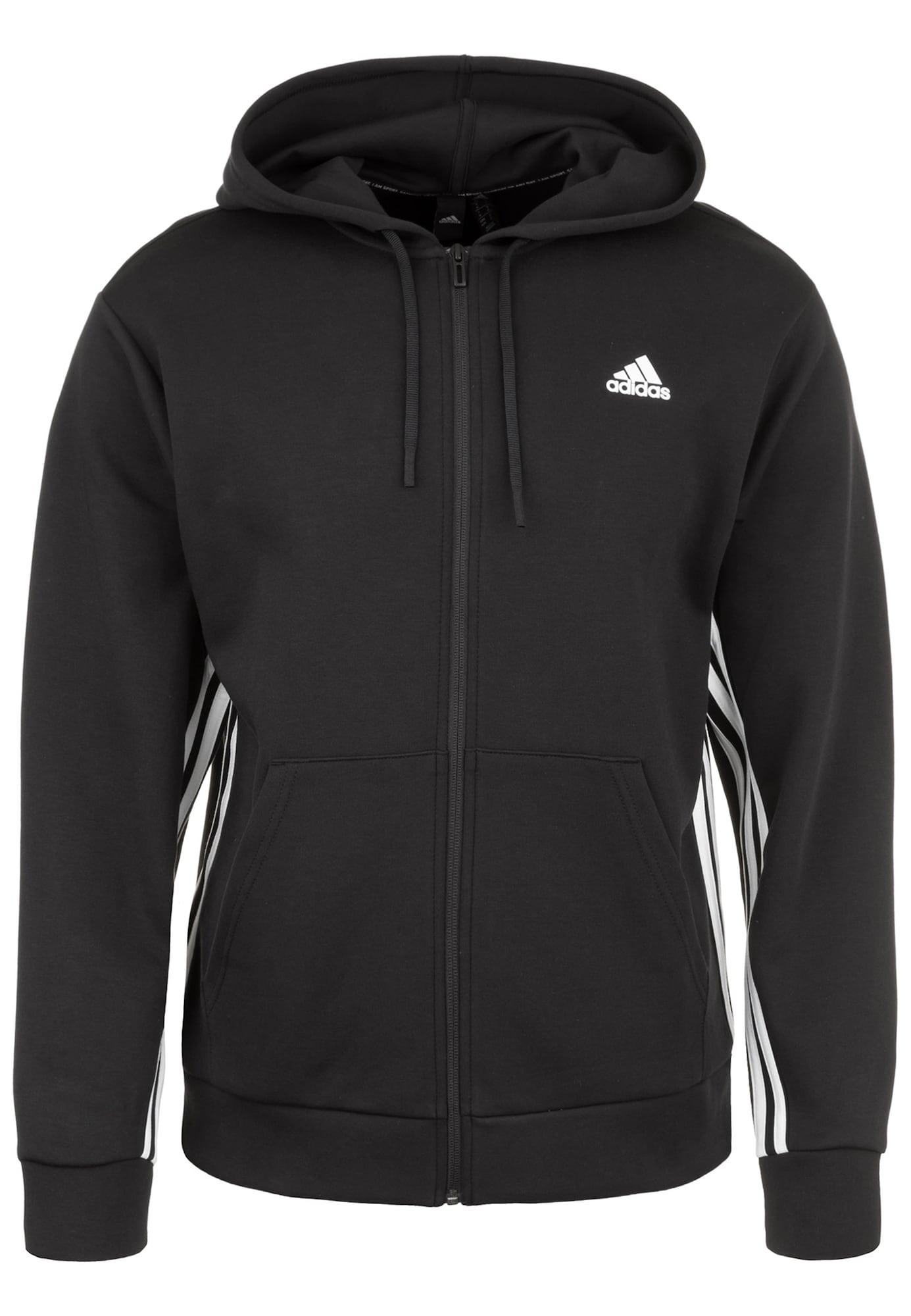 ADIDAS PERFORMANCE Sportinis džemperis 'Must Haves 3S' juoda / balta