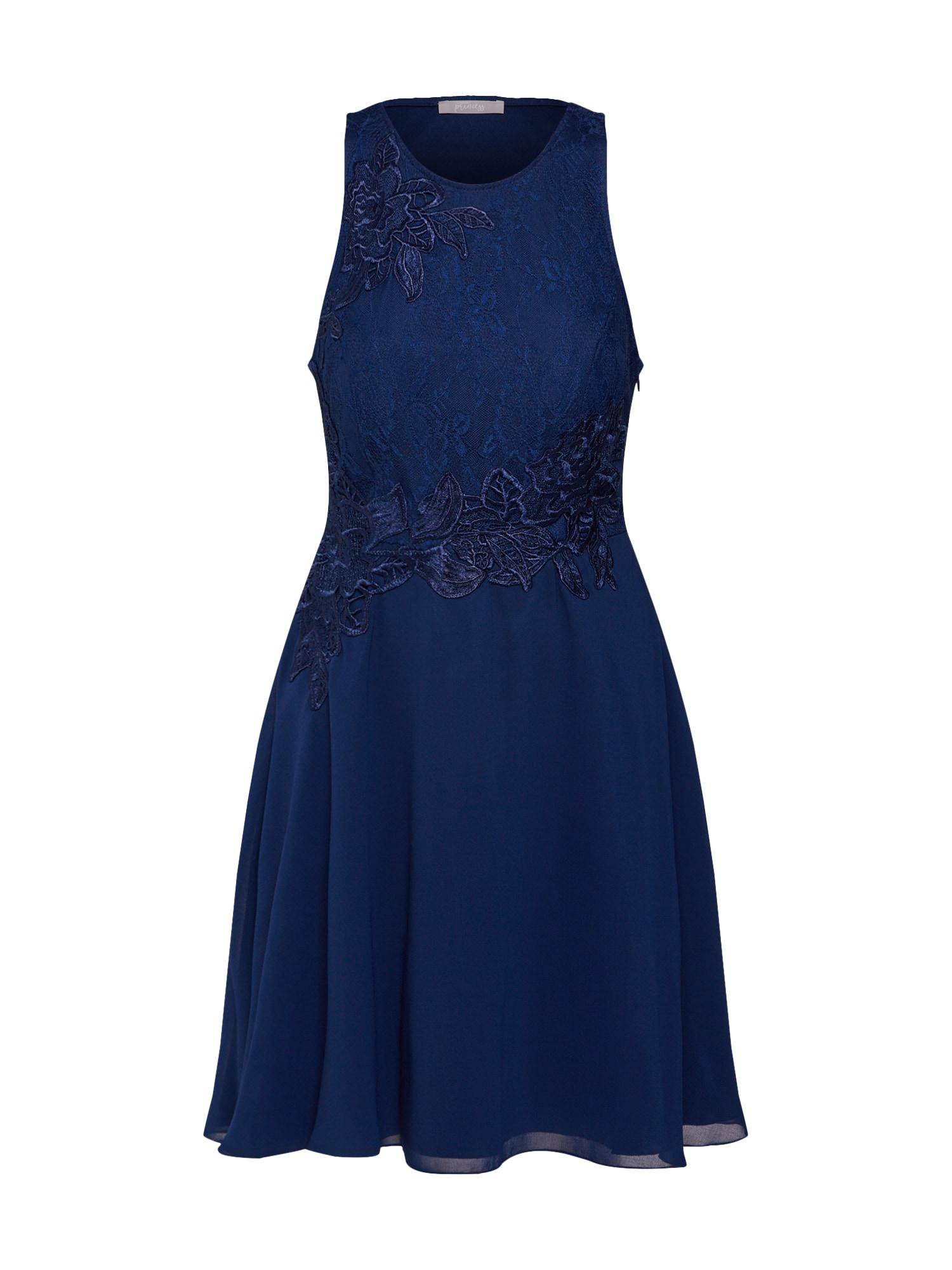 Koktejlové šaty námořnická modř SUDDENLY Princess