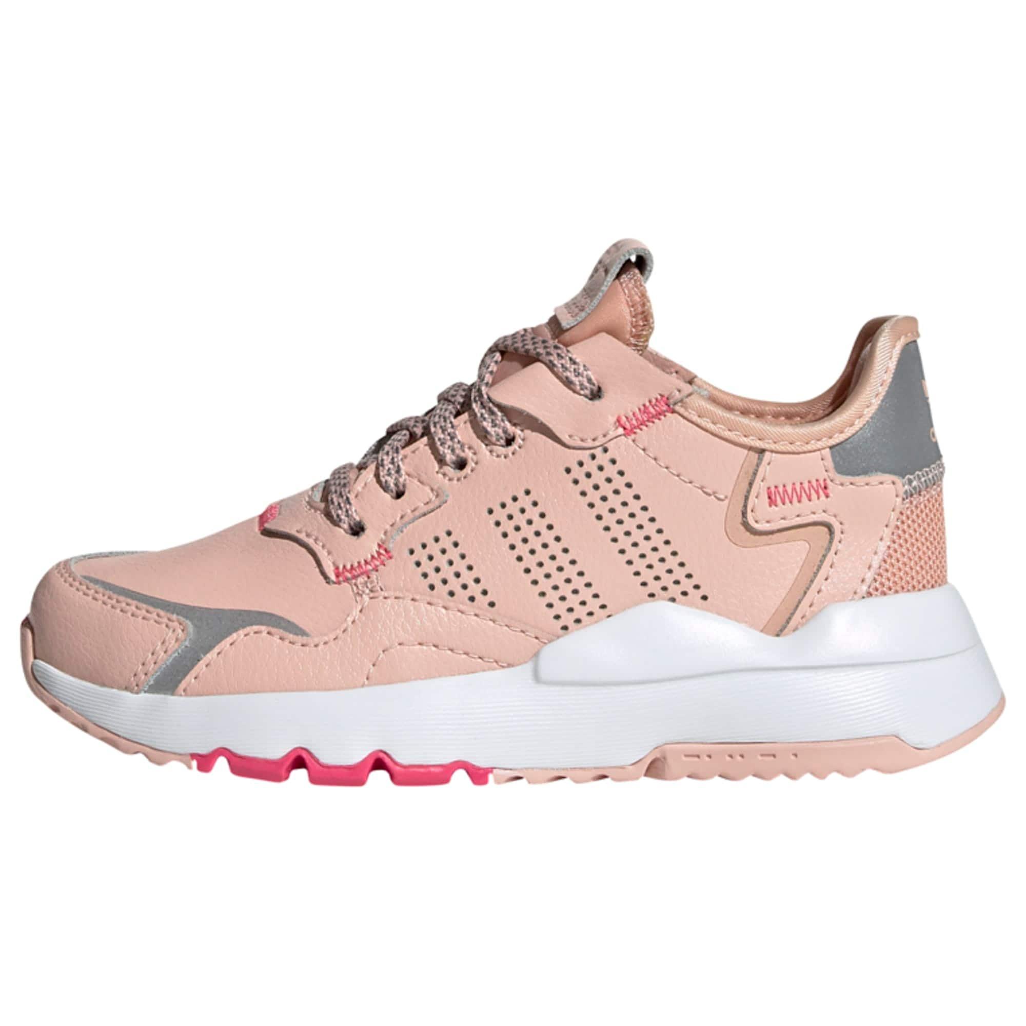 ADIDAS ORIGINALS Tenisky  biela / pastelovo ružová / sivá