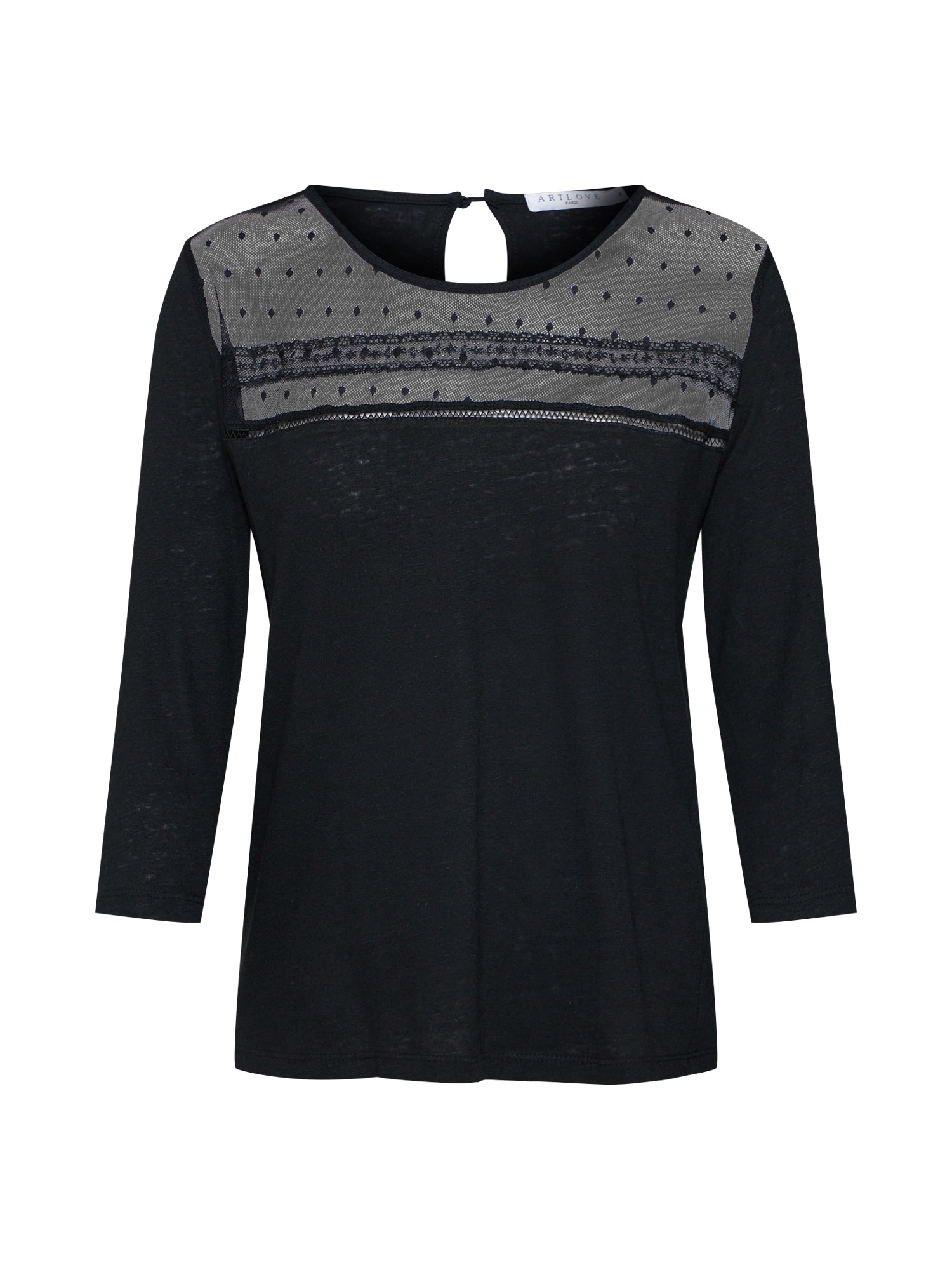 Tričko 36151 černá ARTLOVE Paris