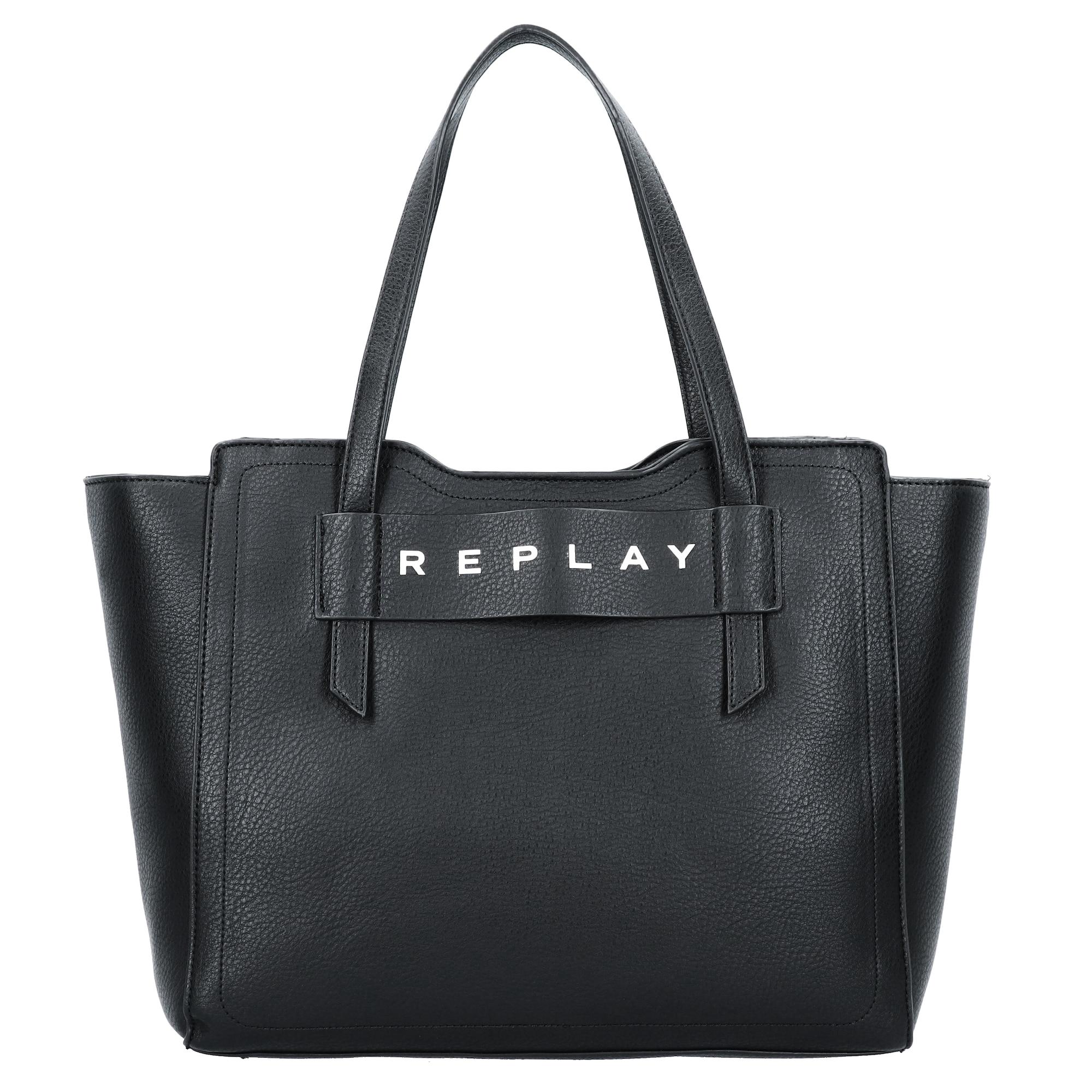 REPLAY Plase de cumpărături  negru