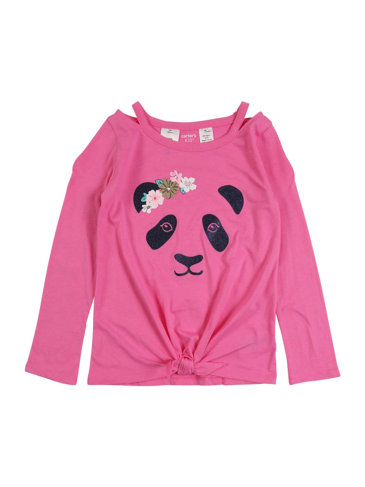 Carter's Marškinėliai 'panda' rožinė