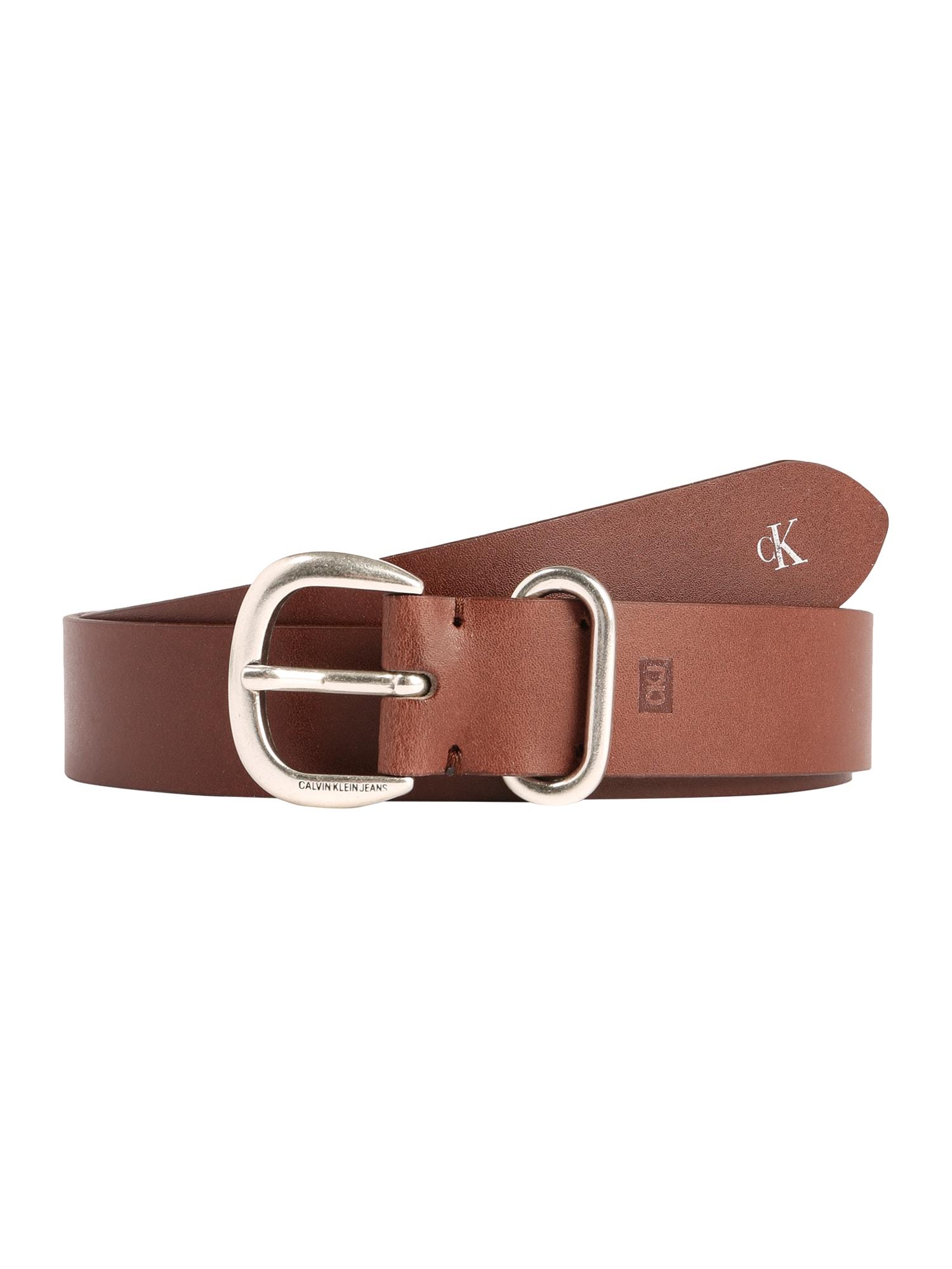 Calvin Klein Jeans Opasky 'CLASSIC 30MM'  koňak