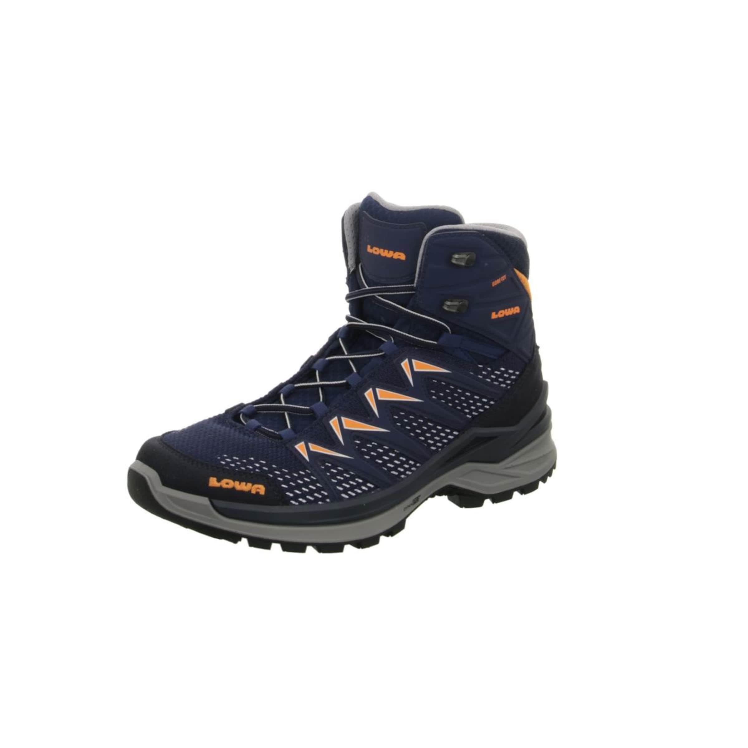 Herren LOWA Outdoorschuhe blau,  orange,  schwarz, pink | 04056264581669