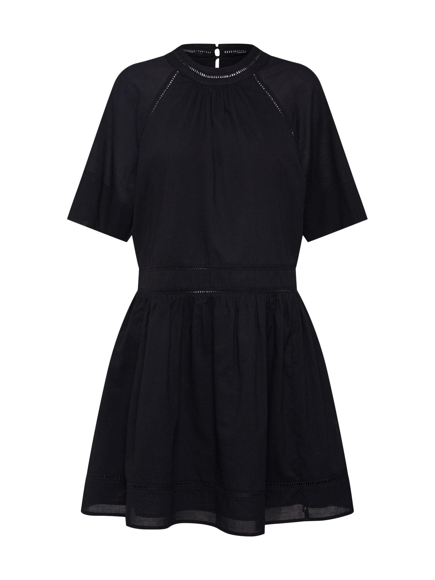 Šaty schwarz SCOTCH & SODA