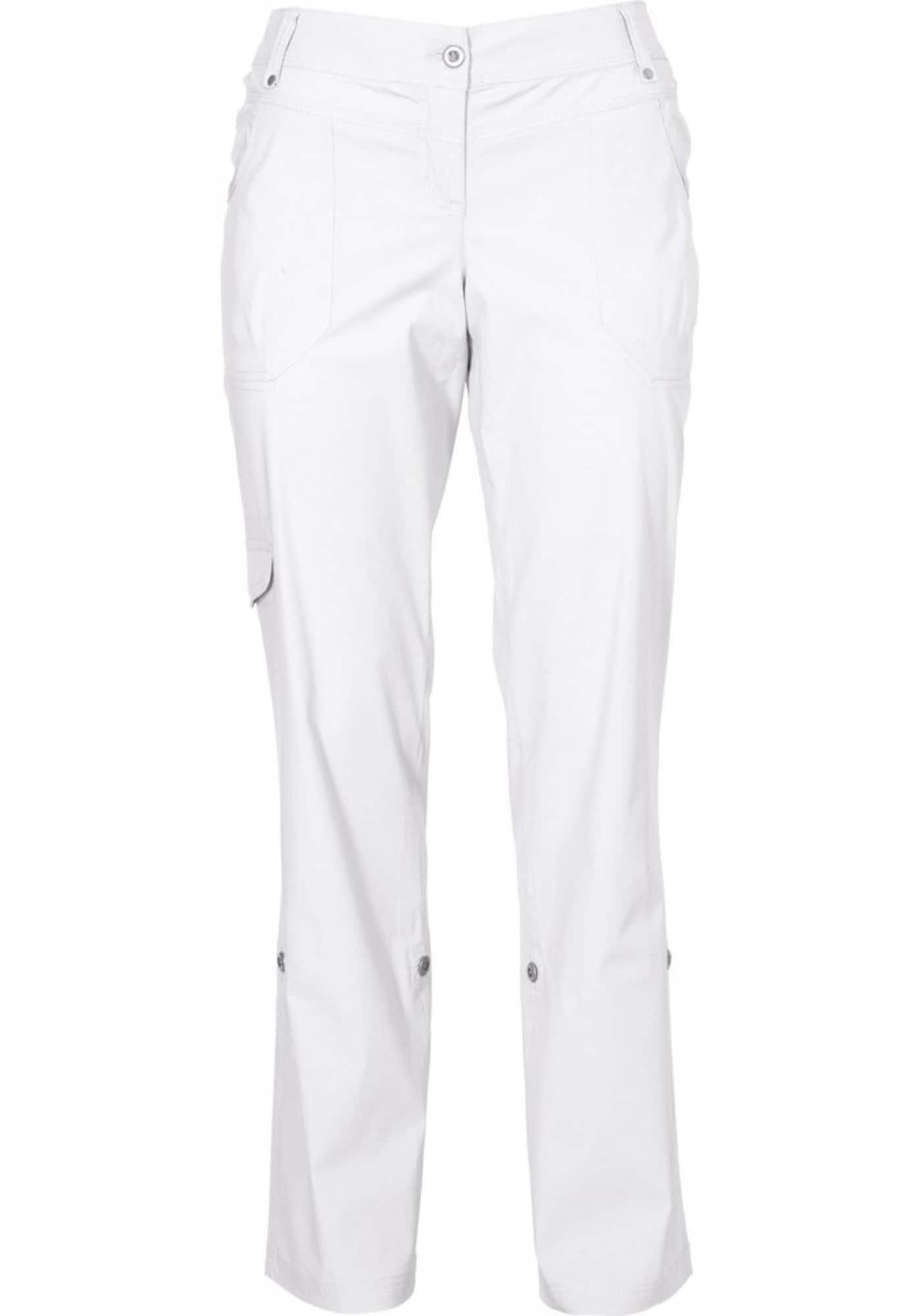 SHEEGO Laisvo stiliaus kelnės balta