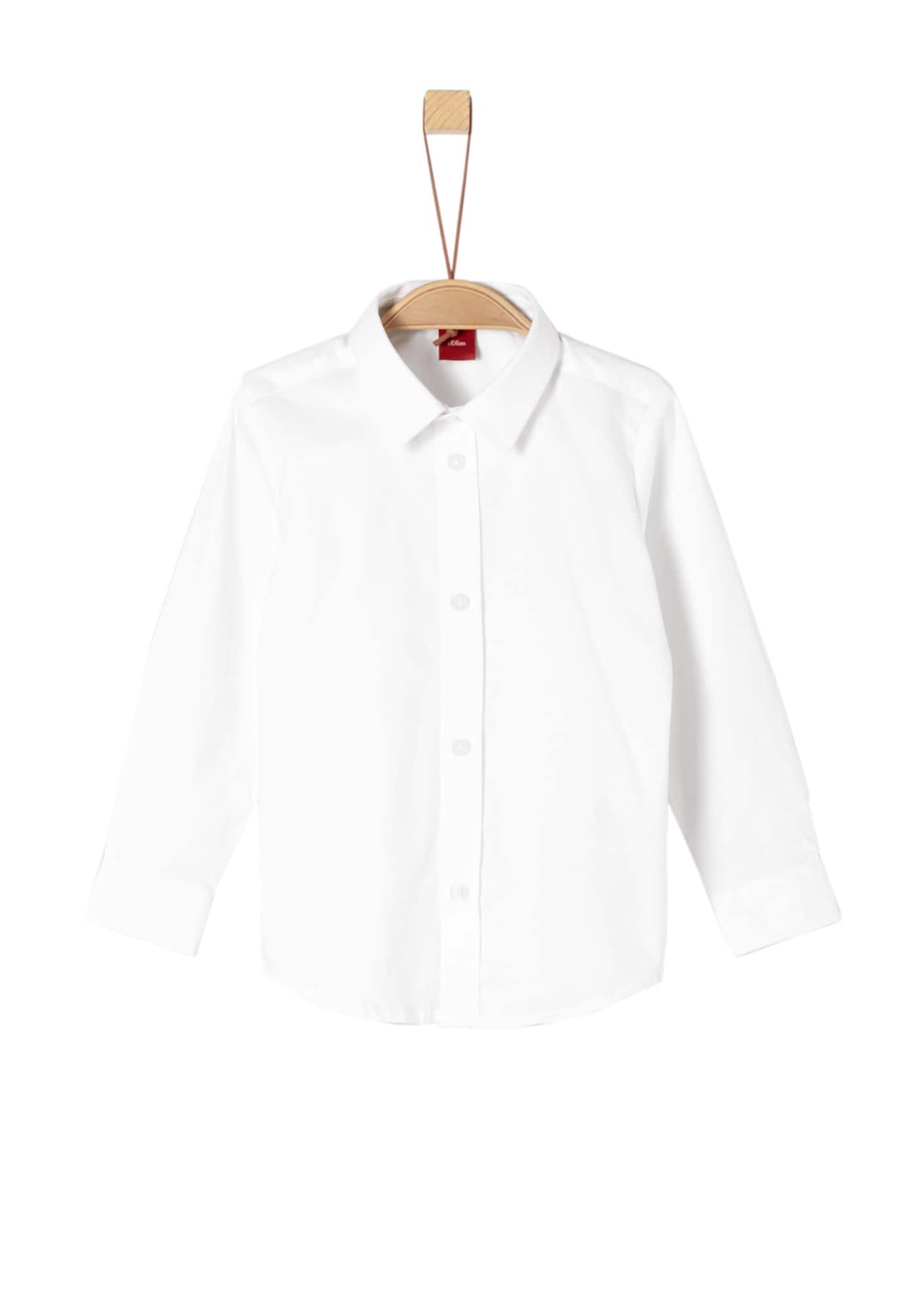 Košile bílá S.Oliver Junior