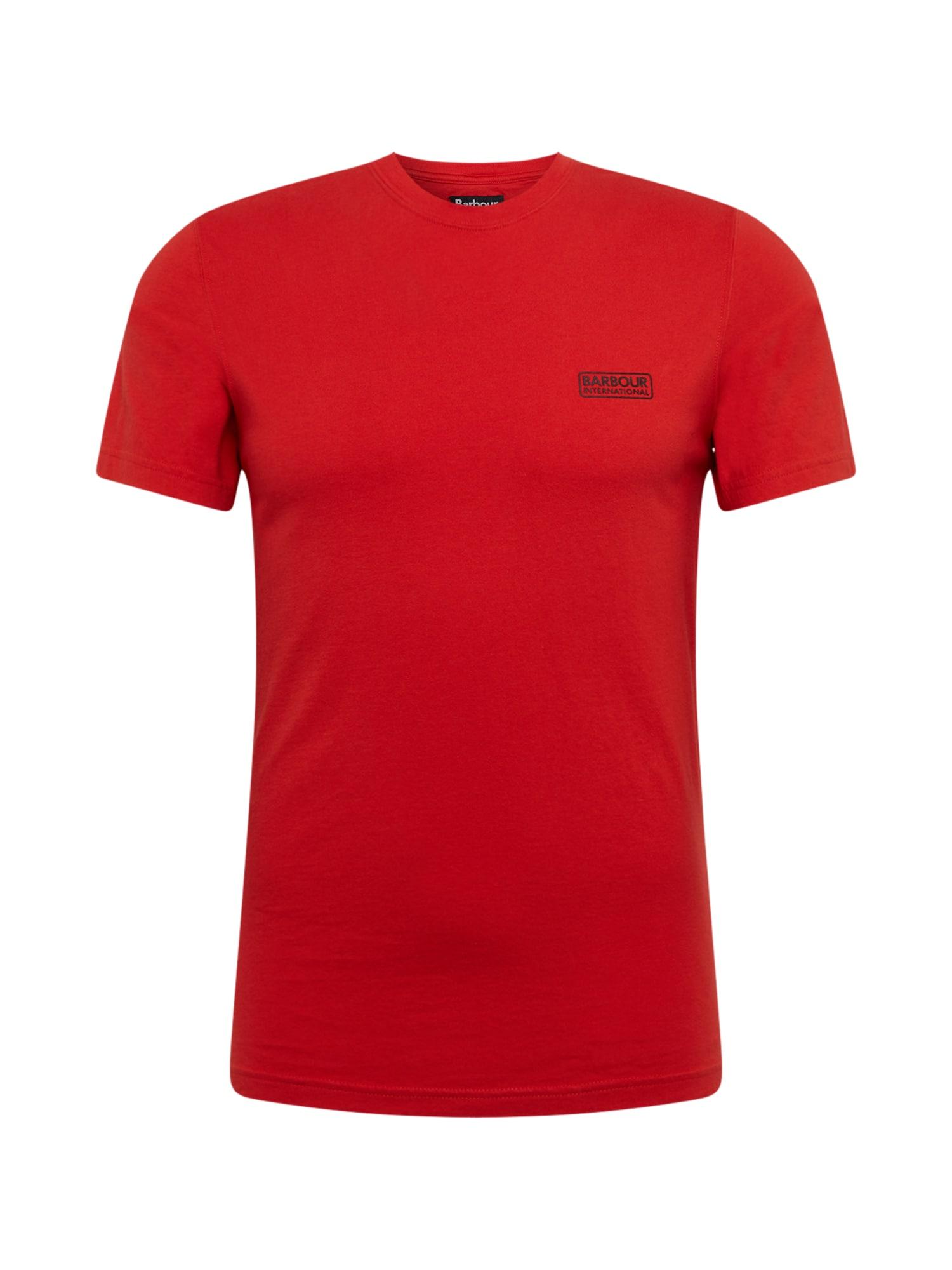 Barbour International Marškinėliai raudona