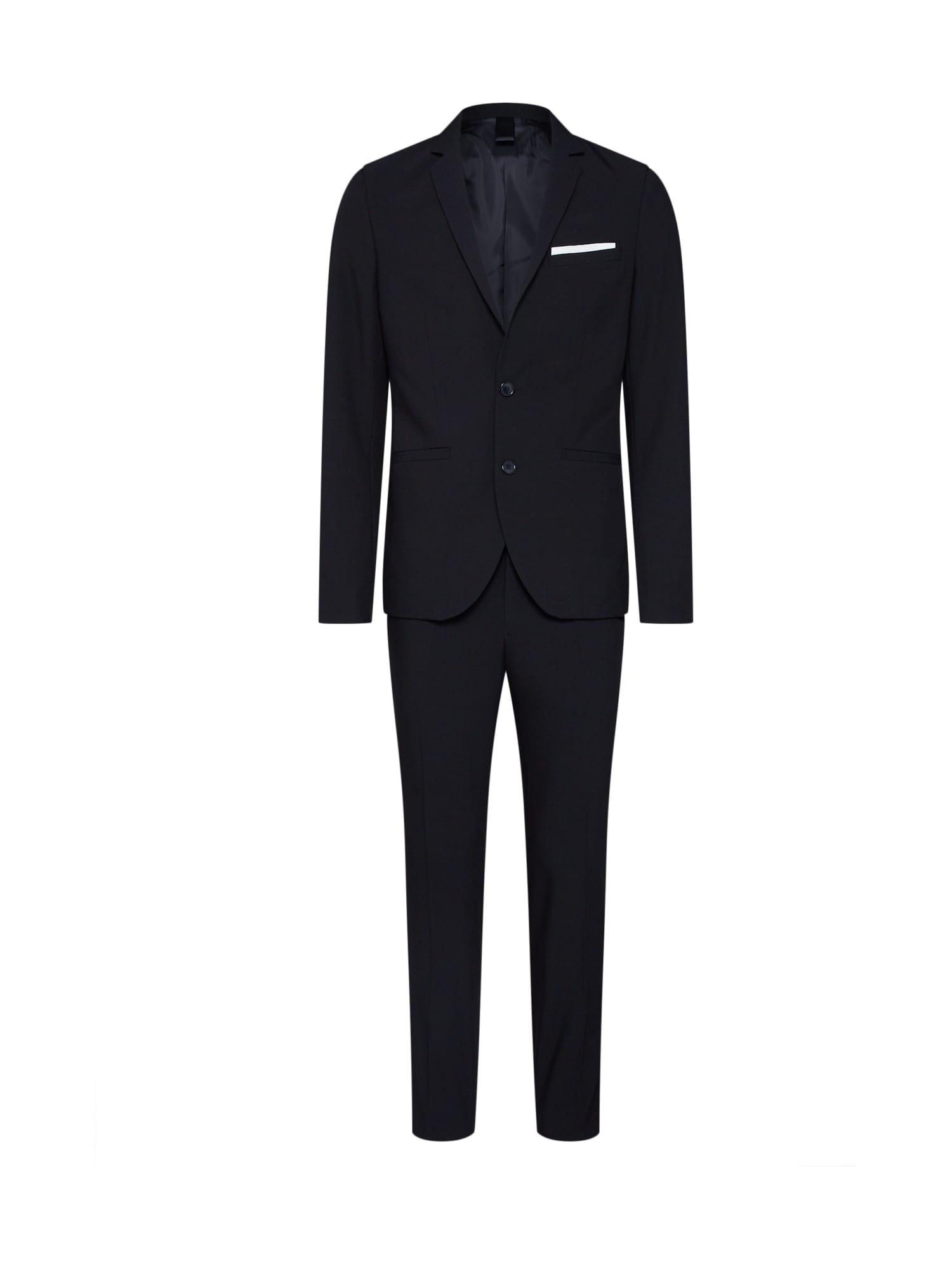 Oblek Skinny Suit černá KIOMI