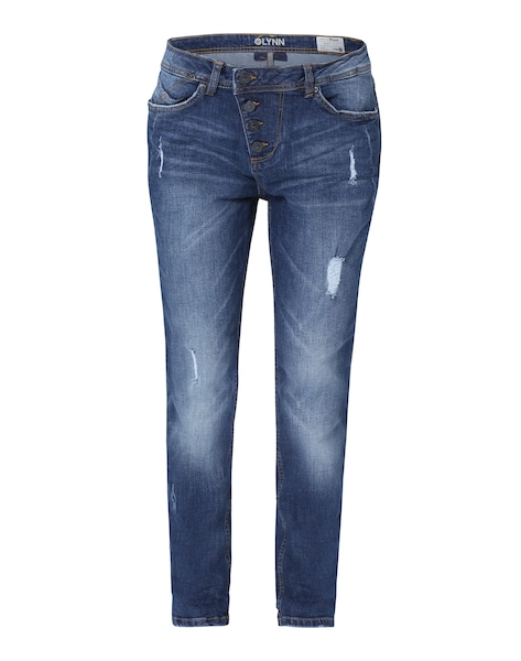 Hosen für Frauen - TOM TAILOR DENIM Jeans 'Lynn Authentic Blue' dunkelblau  - Onlineshop ABOUT YOU