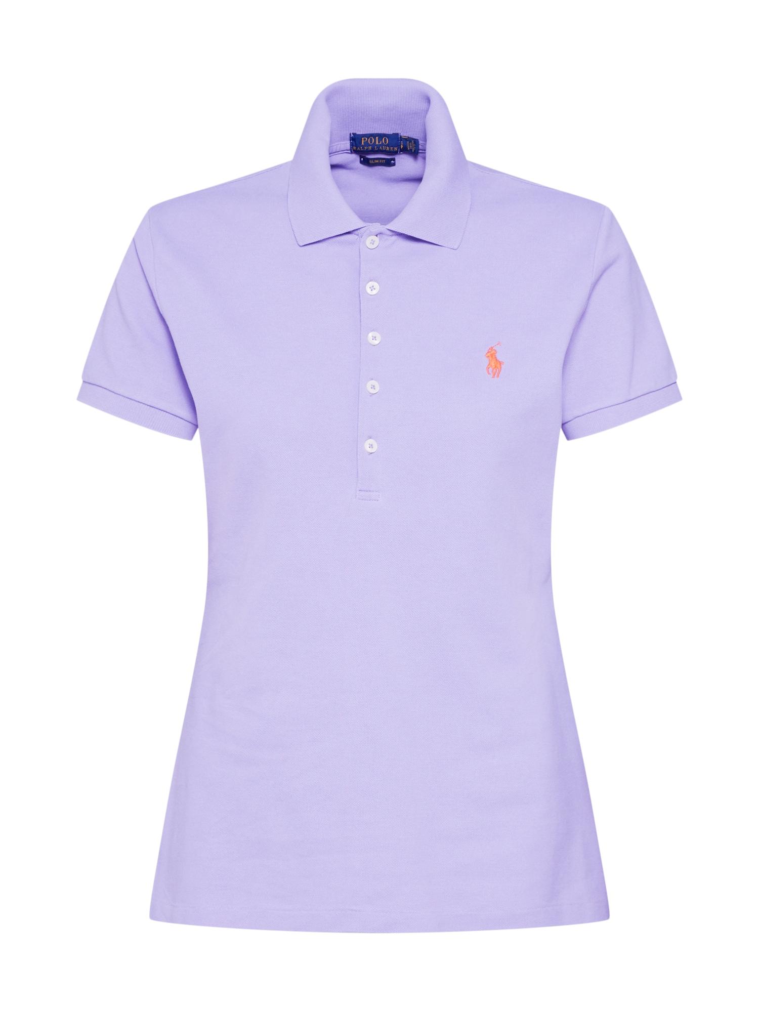 Tričko JULIE fialová oranžová POLO RALPH LAUREN