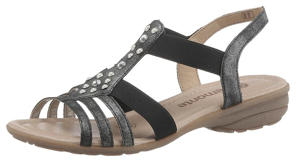 Sandalen - Sandale › REMONTE › anthrazit  - Onlineshop ABOUT YOU
