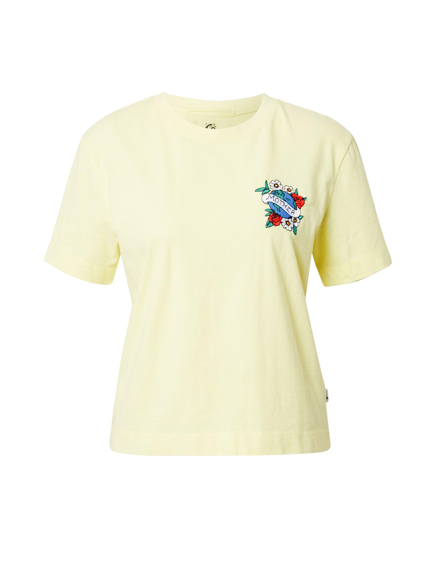 QUIKSILVER Marškinėliai geltona