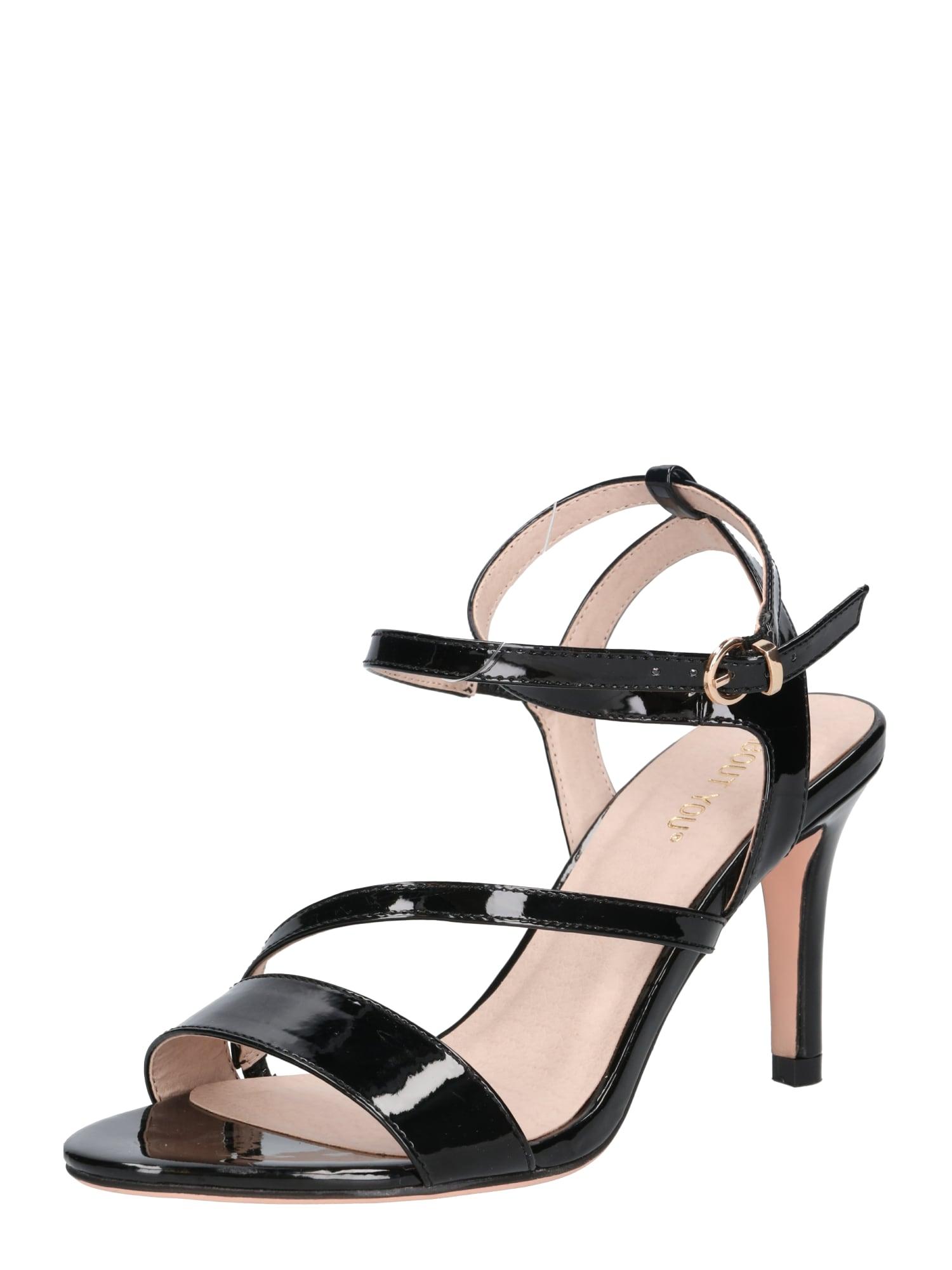 ABOUT YOU Sandále 'Tamina'  čierna