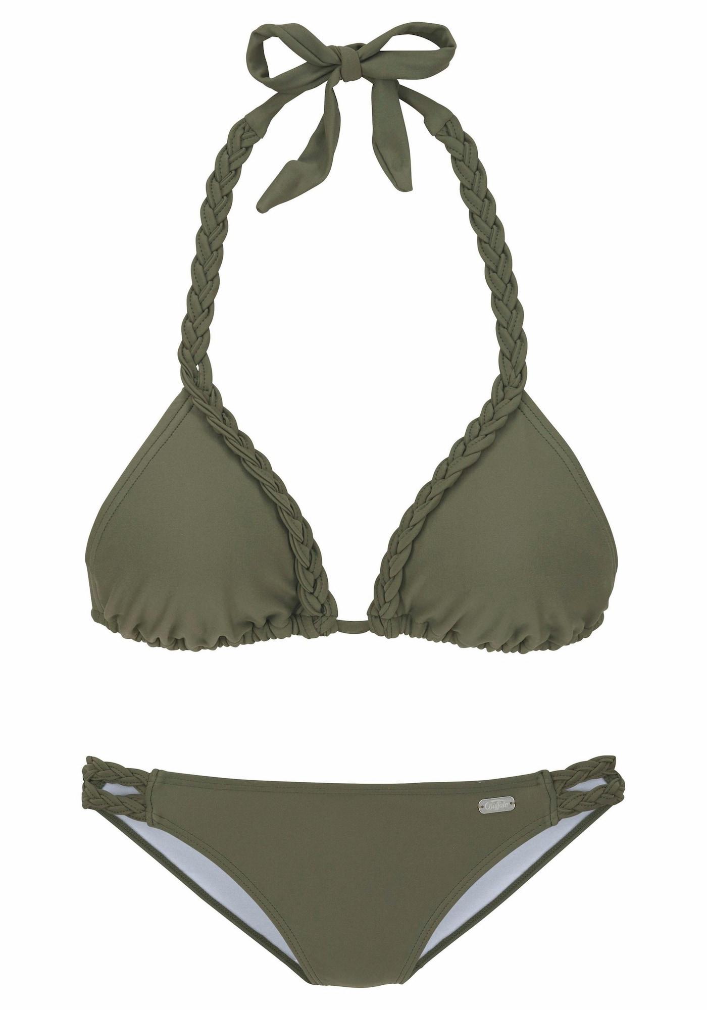 BUFFALO Bikinis alyvuogių spalva